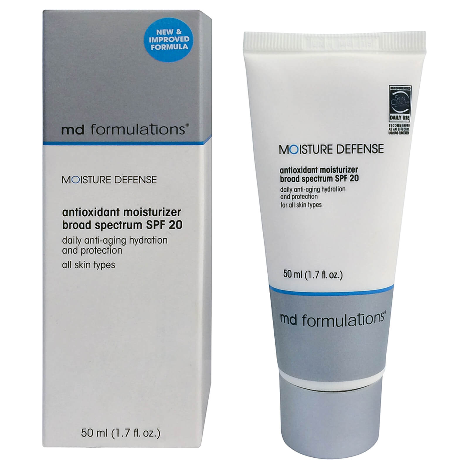 MD Formulations Moisture Defense Antioxidant Moisturizer SPF 20