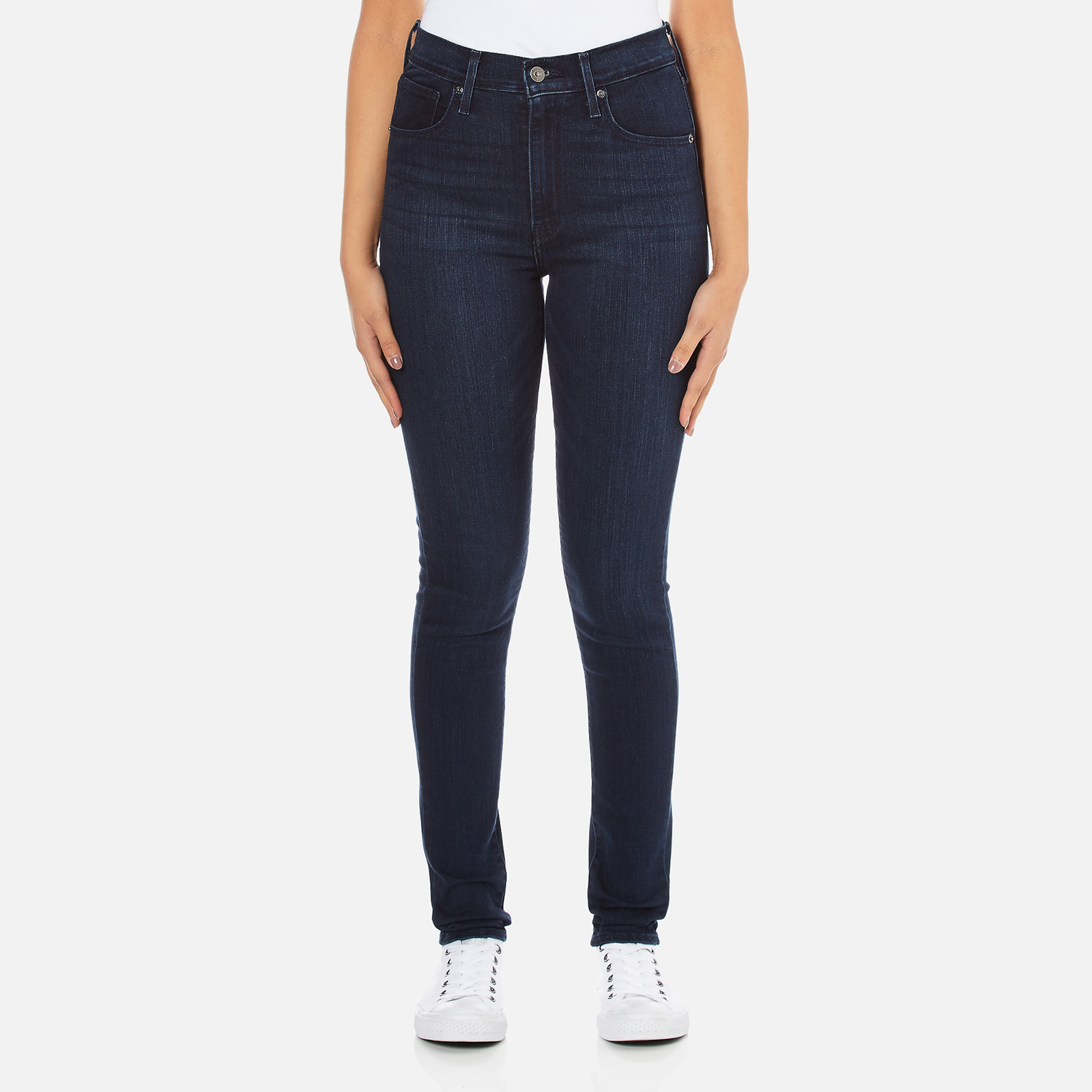 00b24687 Levi's Women's Mile High Super Skinny Fit Jeans - Daydreaming - Free UK  Delivery over £50