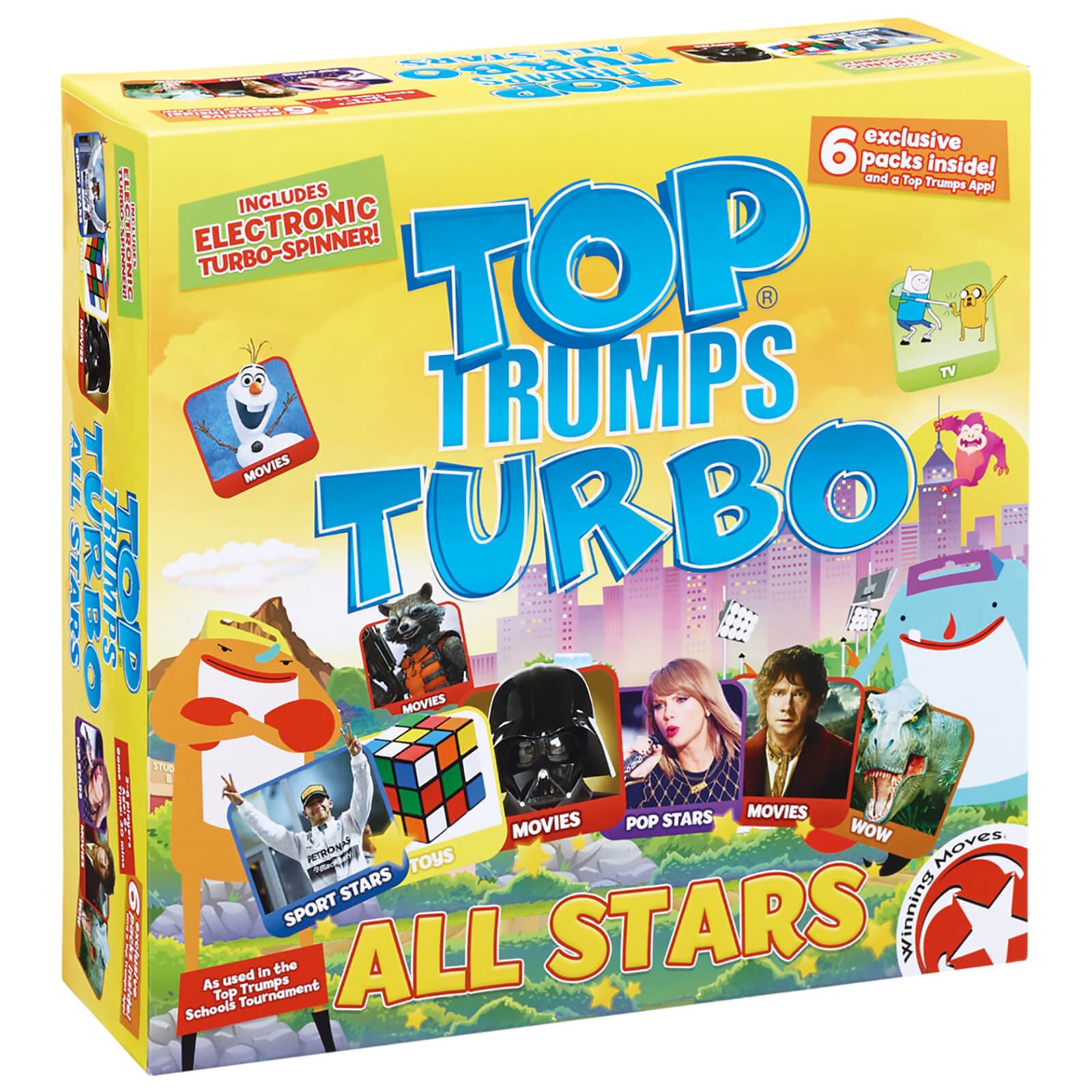 Top Trumps Turbo - All Stars