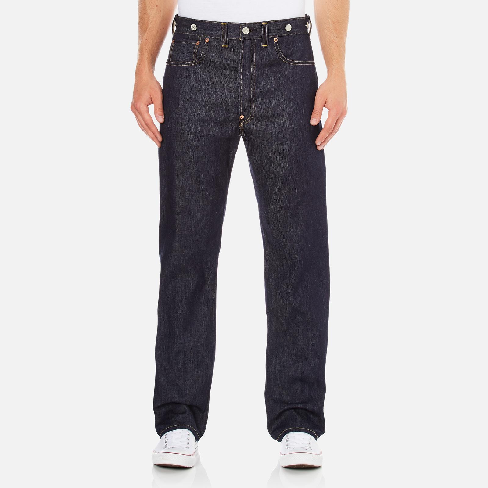 492b4472 Levi's Vintage Men's 1933 501 5 Pocket Straight Fit Jeans - Rigid - Free UK  Delivery over £50