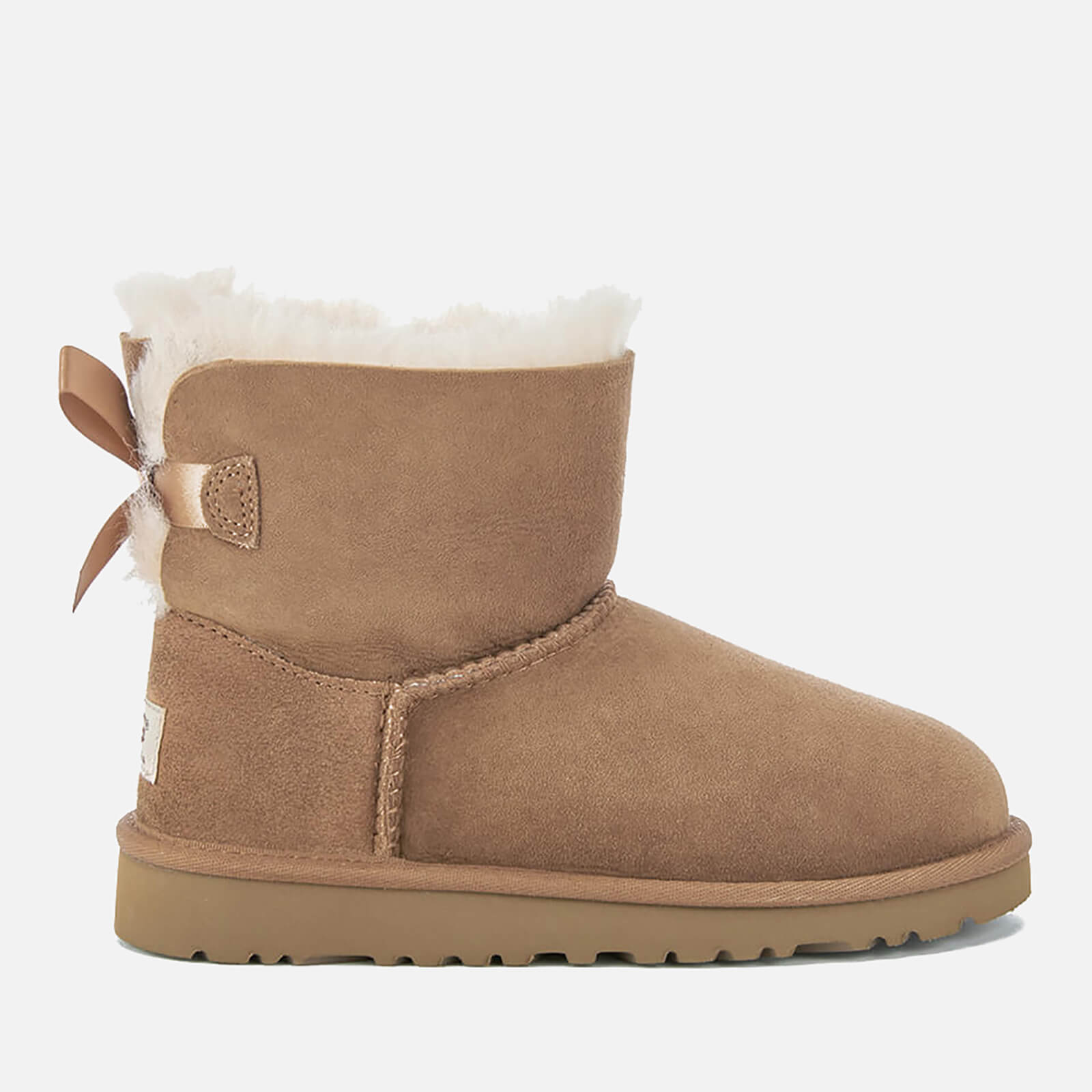 1596cac30f4 UGG Kids' Mini Bailey Bow Boots - Chestnut