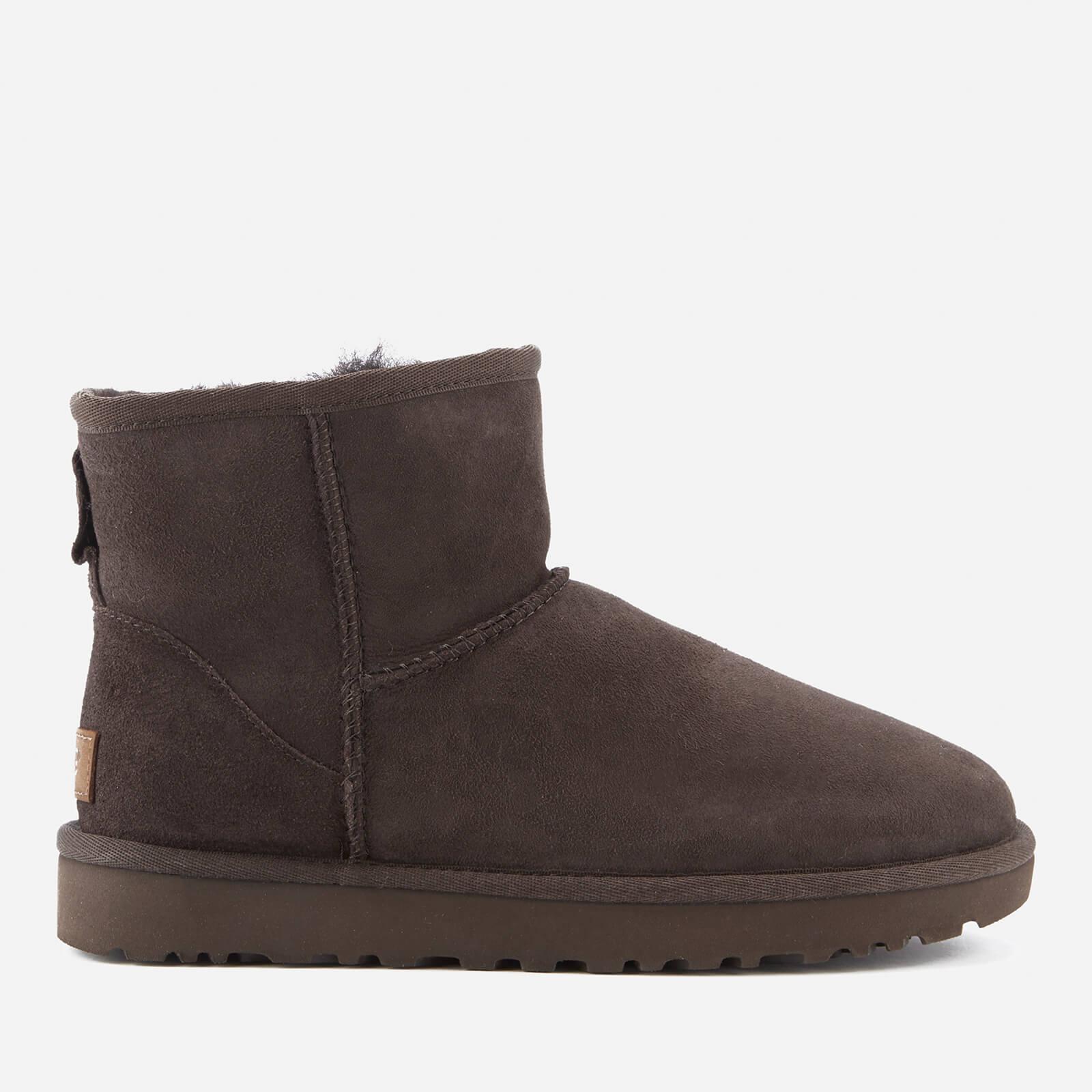 161741c1535 UGG Women's Classic Mini II Sheepskin Boots - Chocolate