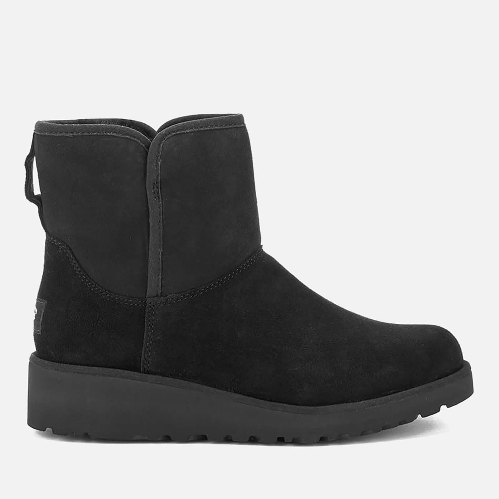 0032e1a65da UGG Women's Kristin Classic Slim Sheepskin Boots - Black