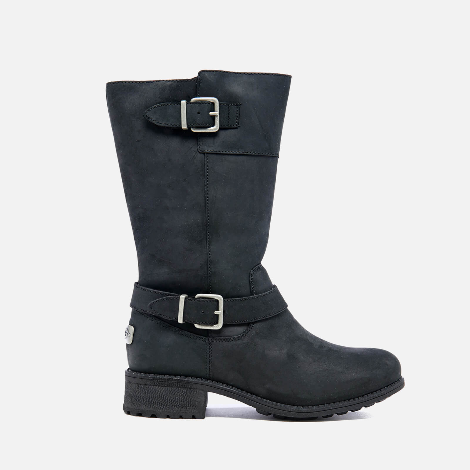 ce484603 UGG Women's Tisdale Buckle Biker Boots - Black | FREE UK Delivery | Allsole