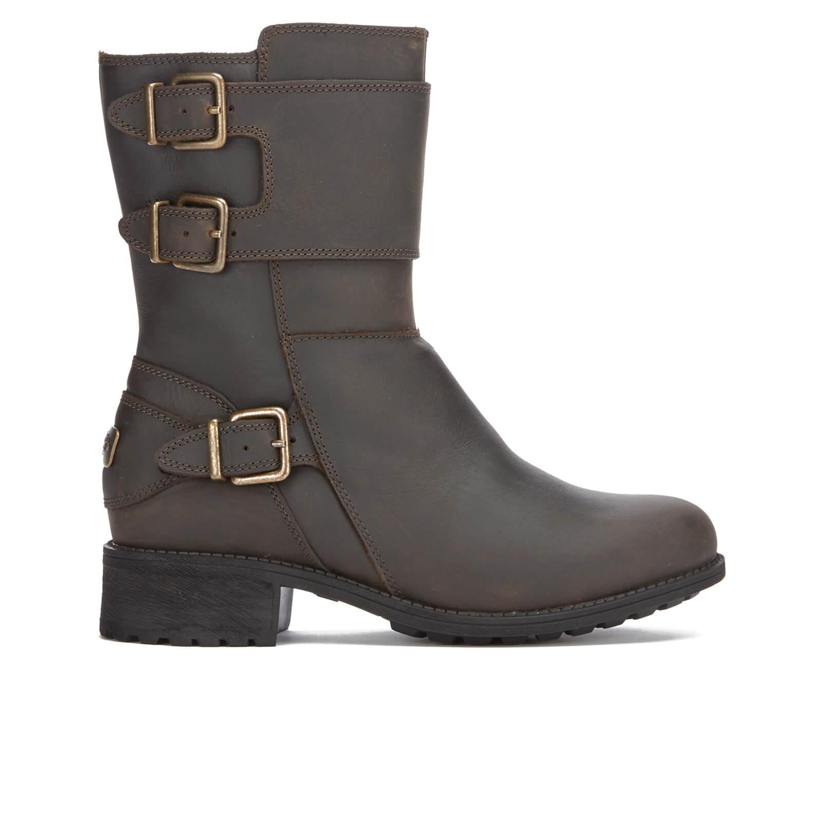 ea1492458c9 UGG Women's Wilcox Buckle Biker Boots - Stout