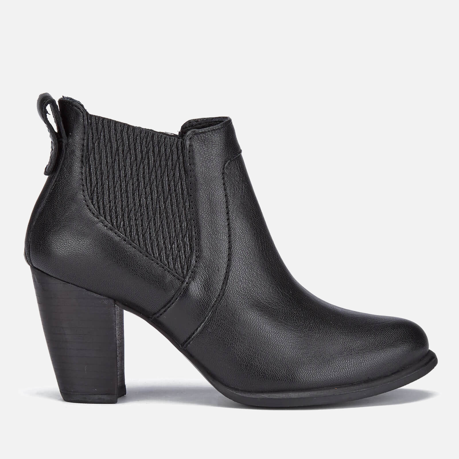 7ee8d4a34a2 UGG Women's Cobie II Leather Heeled Ankle Boots - Black