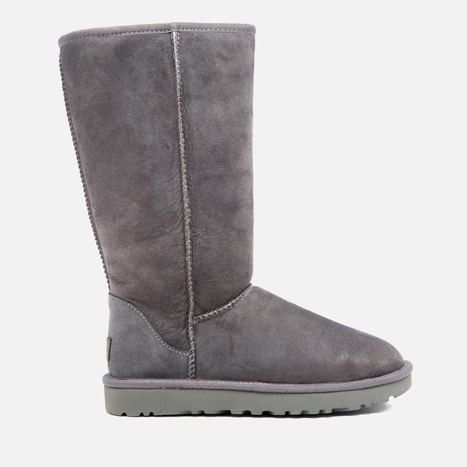 8a7b89e888e UGG Women's Classic Tall II Sheepskin Boots - Grey