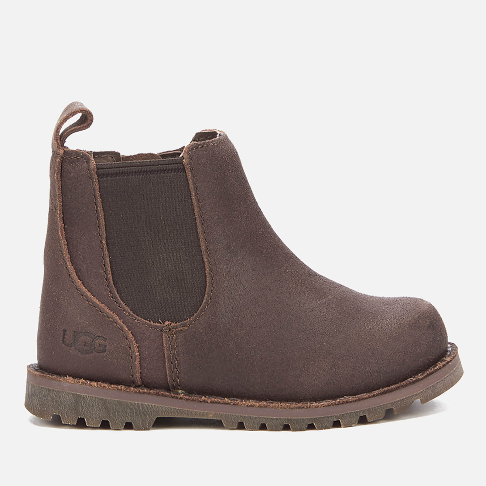0fe2d9b4fea UGG Toddlers' Callum Suede Chelsea Boots - Chocolate
