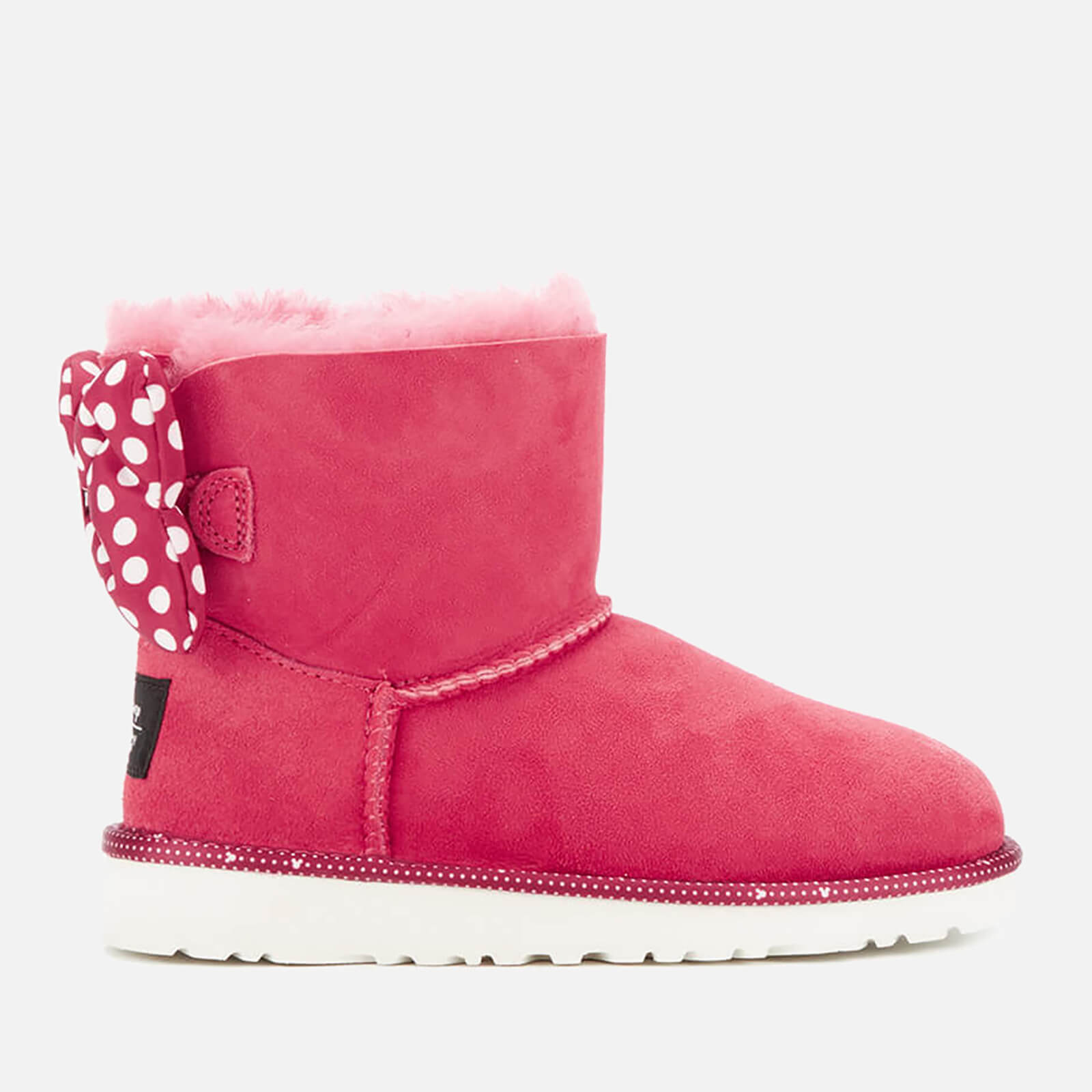 4b87c0cca1d UGG Kids' Sweetie Bow Disney Boots - Red