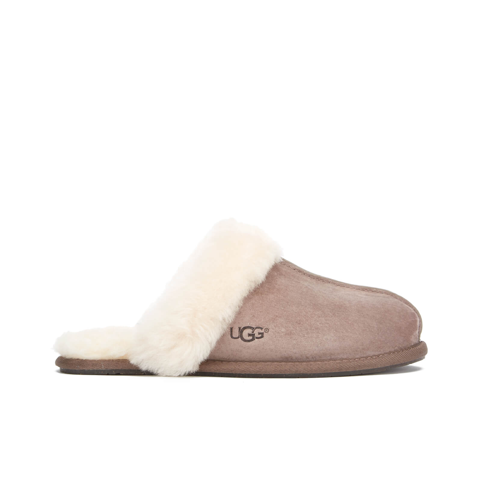 fa993f9f59a UGG Women's Scuffette II Sheepskin Slippers - Stormy Grey