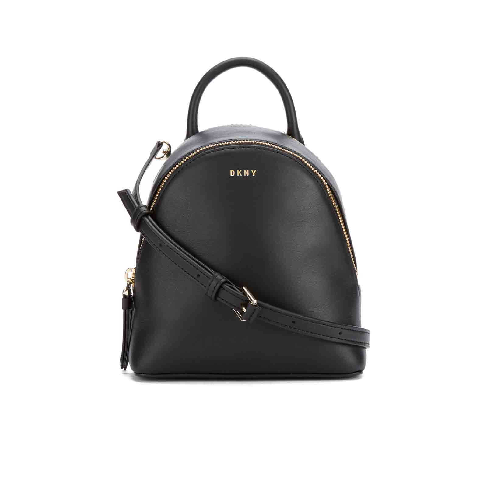23fae2620f DKNY Women s Greenwich Mini Backpack - Black - Free UK Delivery over £50