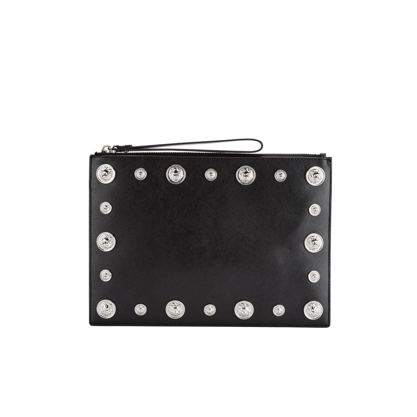 dbf22567 Versus Versace Women's Stud Clutch Bag - Black/Nickel