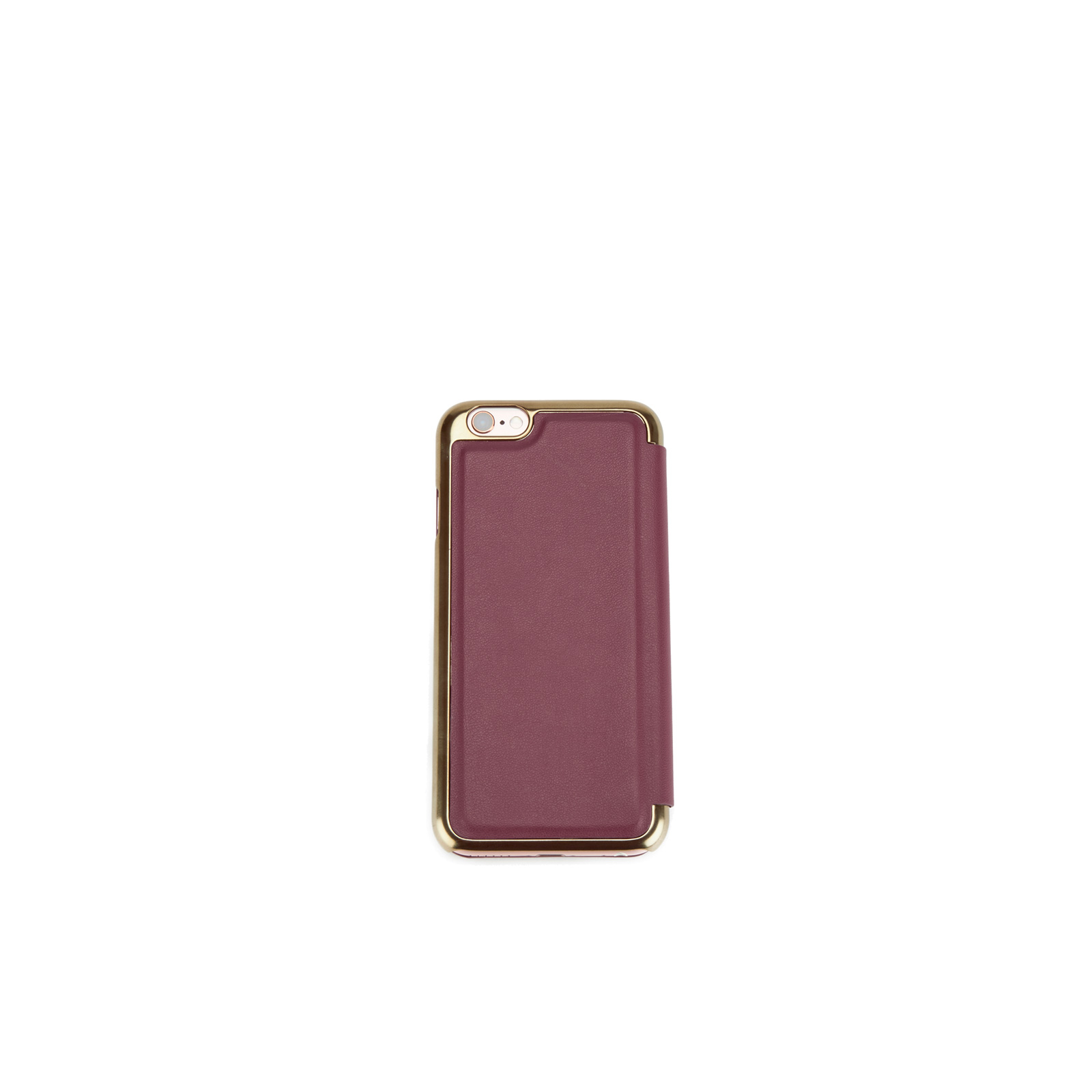 bdfc50dfa71 Ted Baker Women's Shannon iPhone 6 Folded Case with Mirror - Oxblood