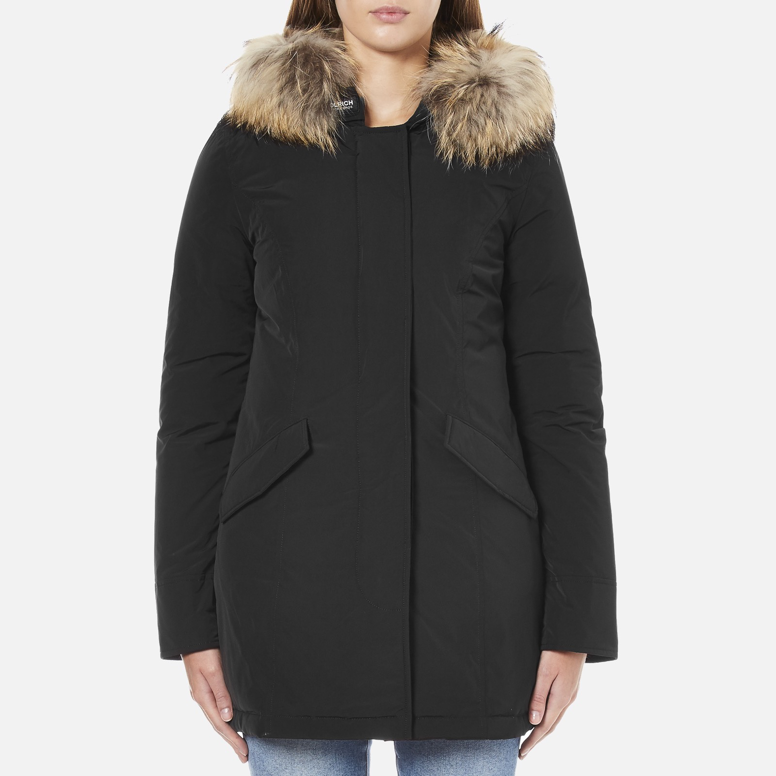 b71e1072889a1a Woolrich Women's Luxury Arctic Parka - Black - Free UK Delivery over £50