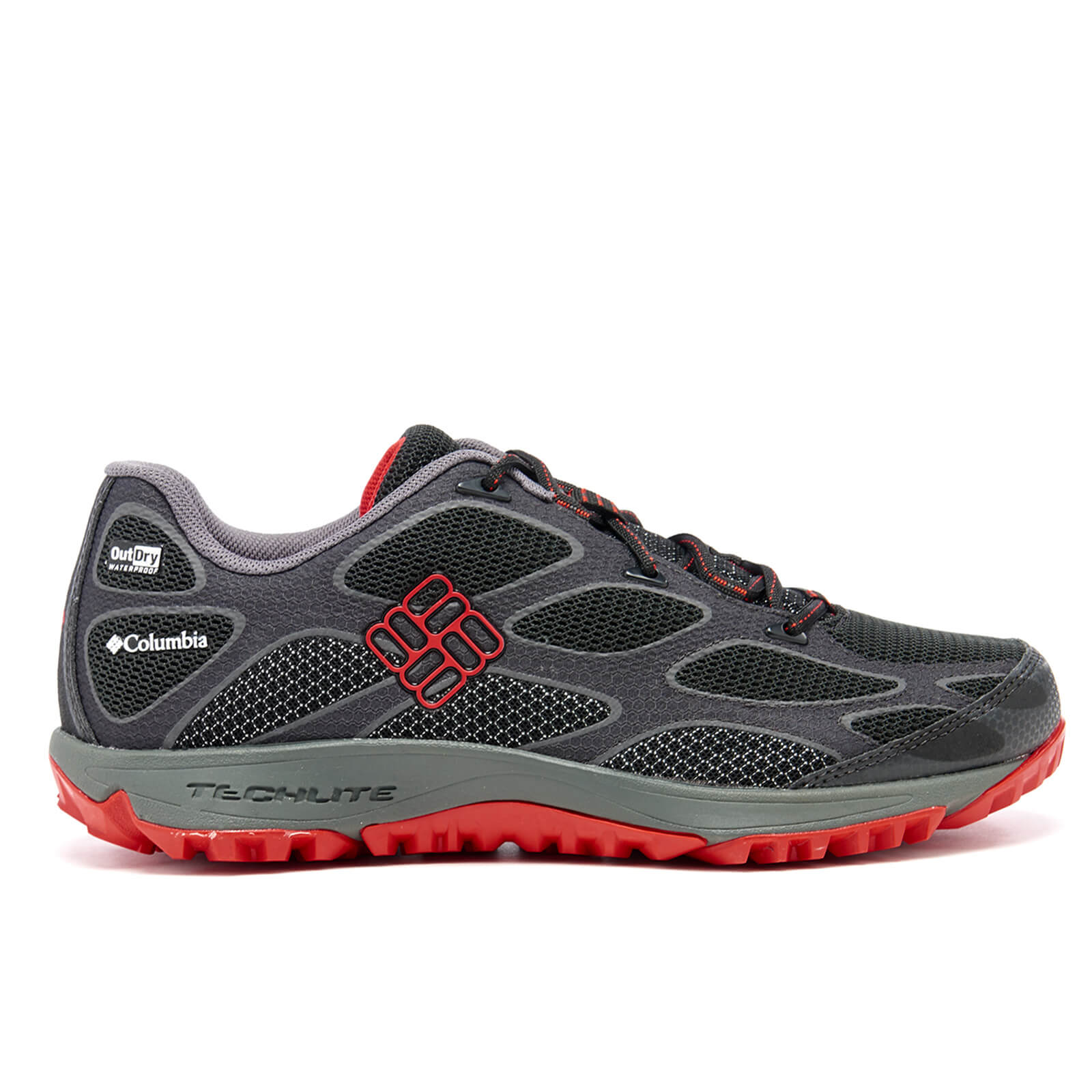Columbia Men's Conspiracy IV Outdry Hiking Shoes BlackBright Red