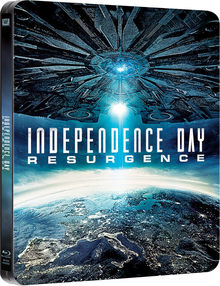 Independence Day: Resurgence 3D (Includes 2D Version) - Zavvi Exclusive Limited Edition Steelbook