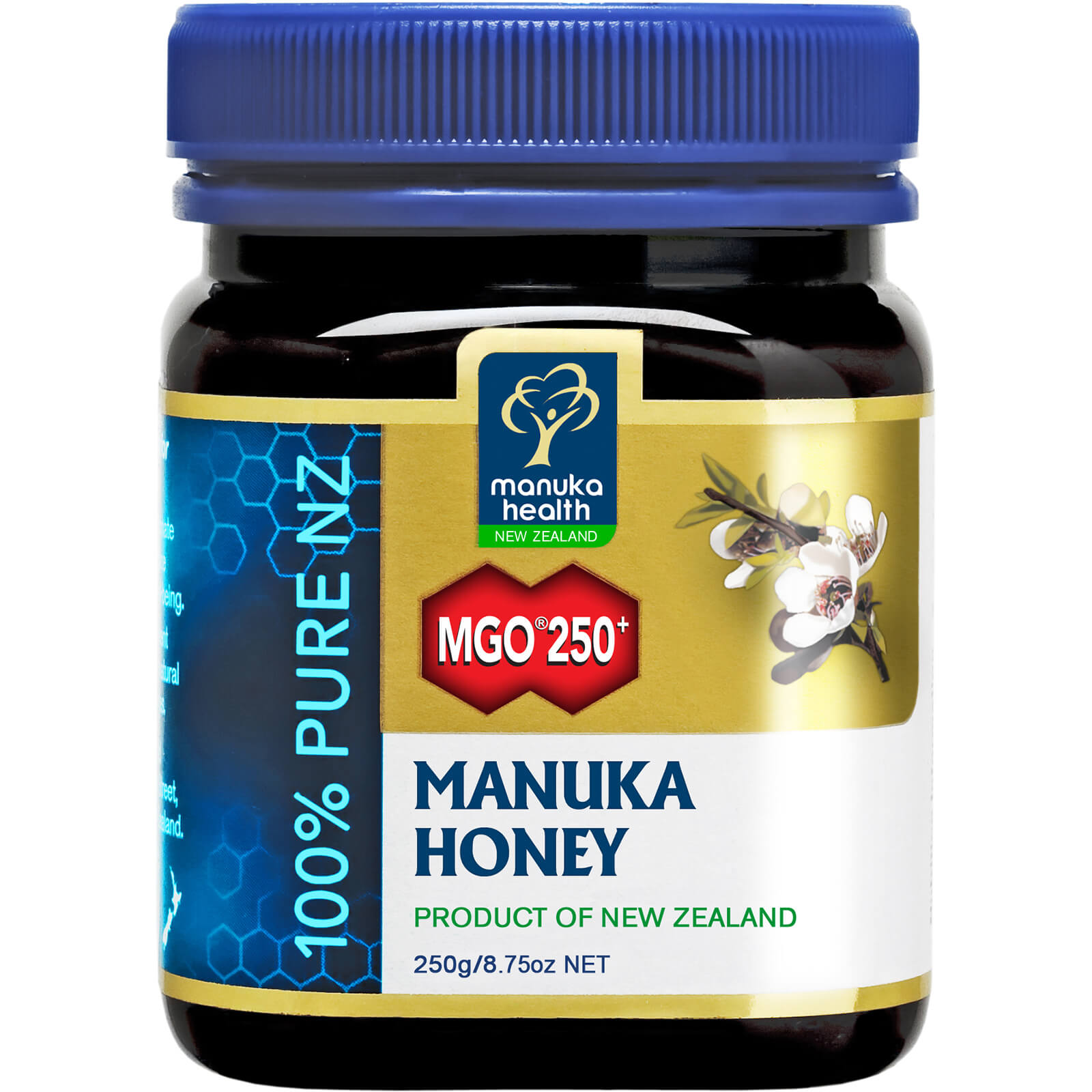 Manuka Health MGO 250+ Pure Manuka Honey Blend 250g