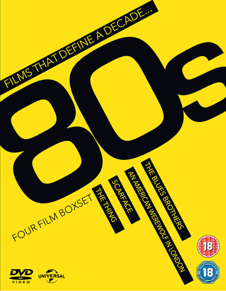 Films That Define A Decade Boxset - 80