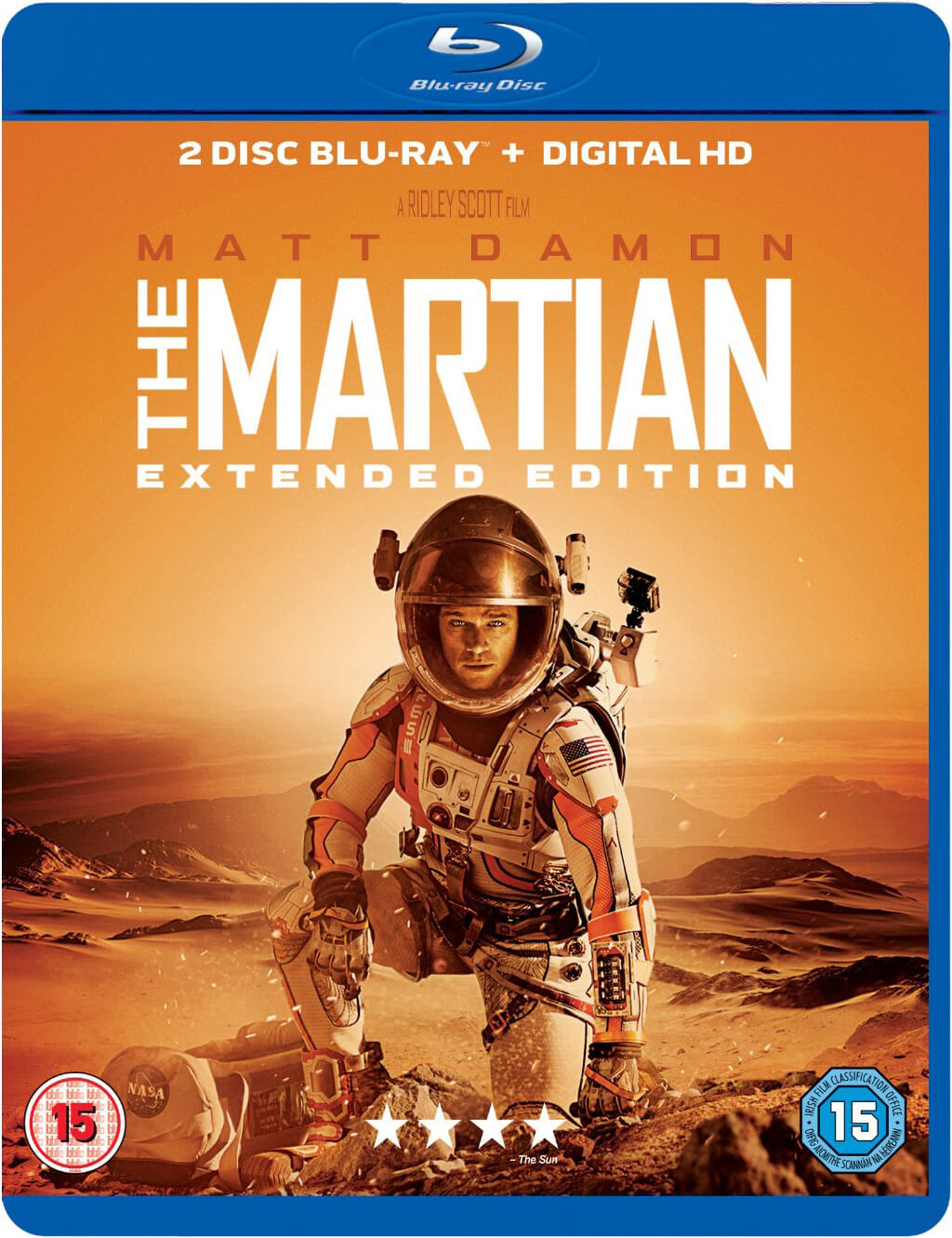The Martian - Extended Edition (Includes UV Copy)