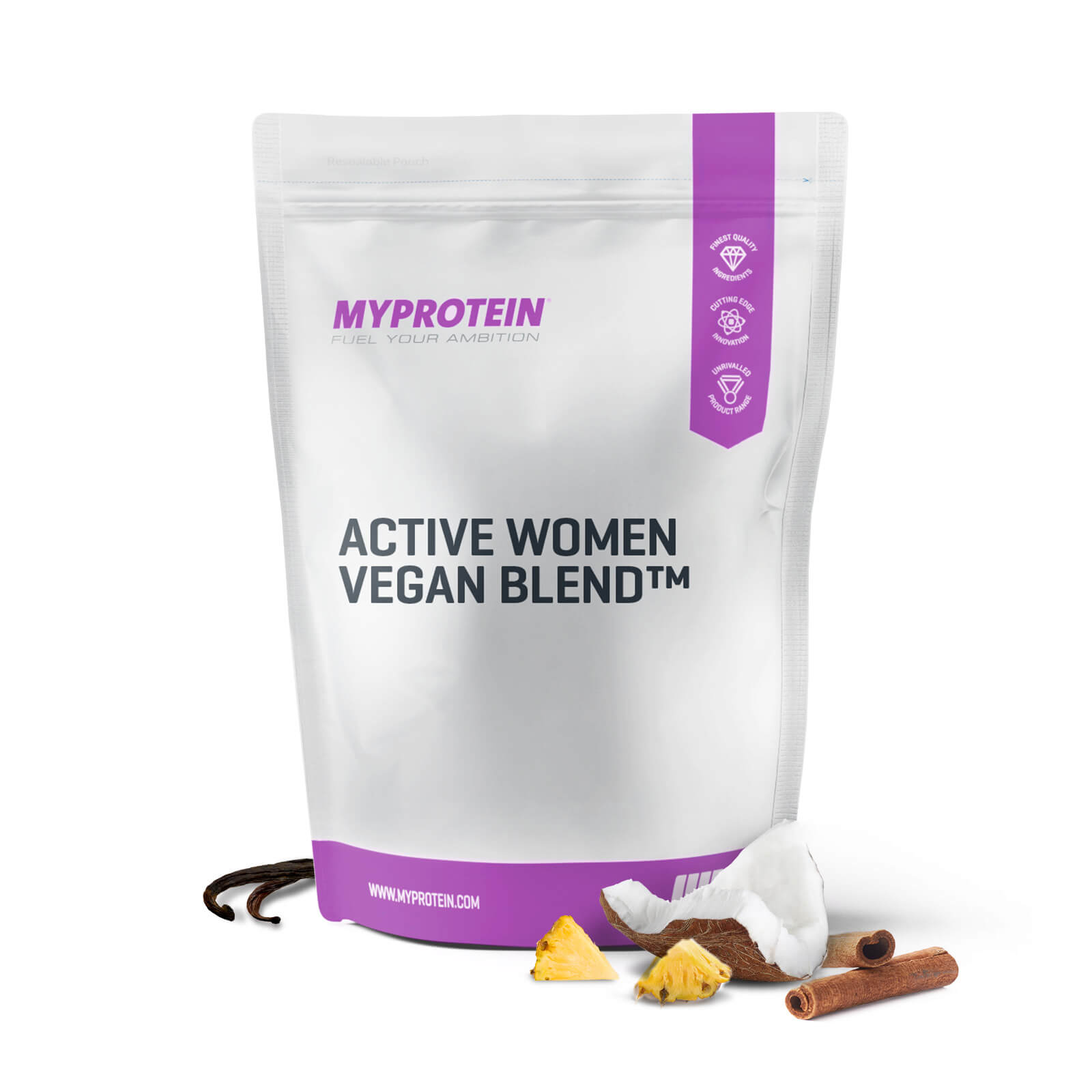 Active Woman Vegan Blend - Pineapple & Coconut - 500g