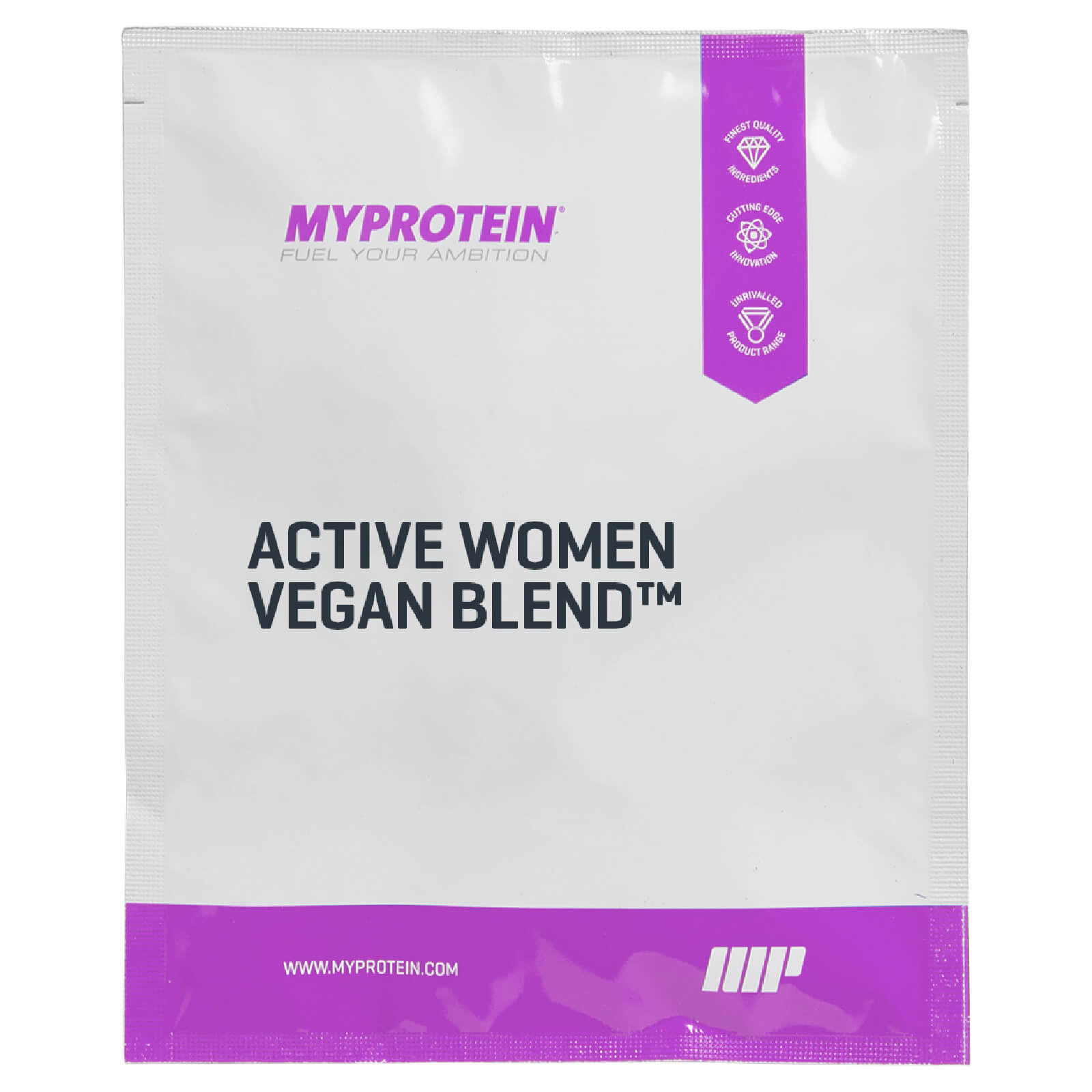 Active Woman Vegan Blend, Natural Vanilla, 25g (Sample)