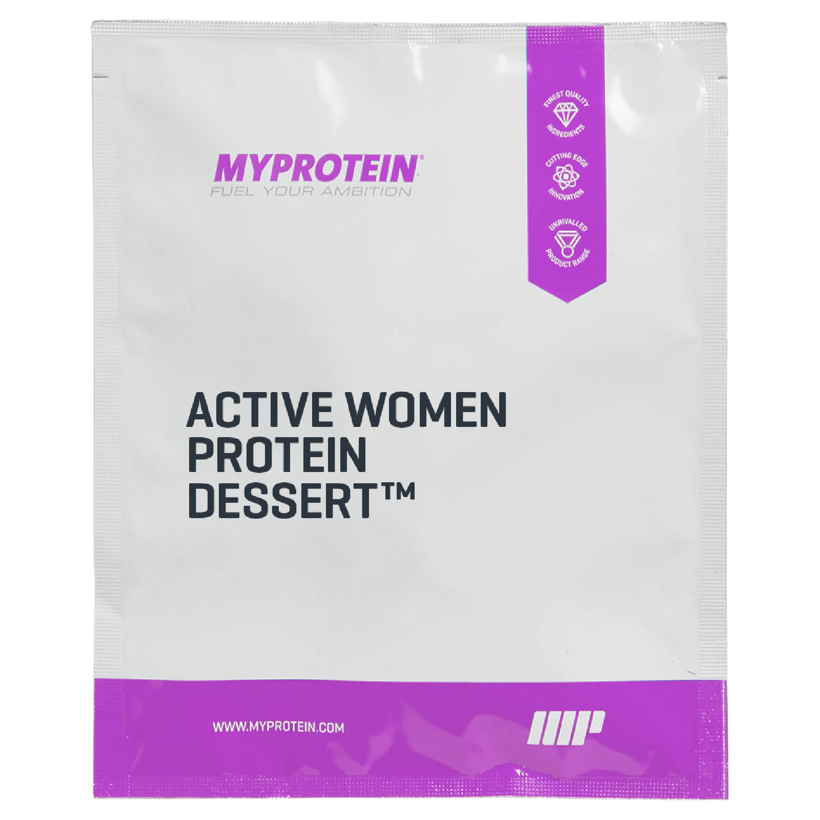 Active Woman Low Calorie Dessert (Sample) - Velvet Vanilla - 32g