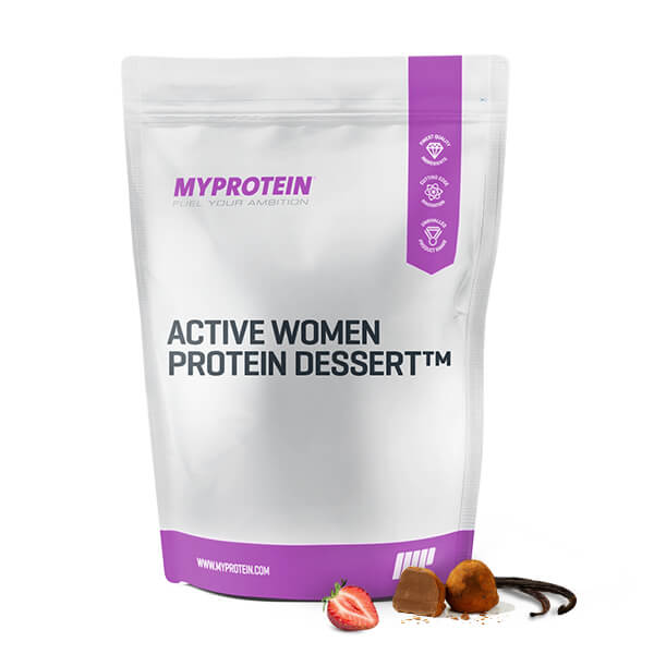Active Woman Low Calorie Dessert - Strawberry Shortcake - 500g
