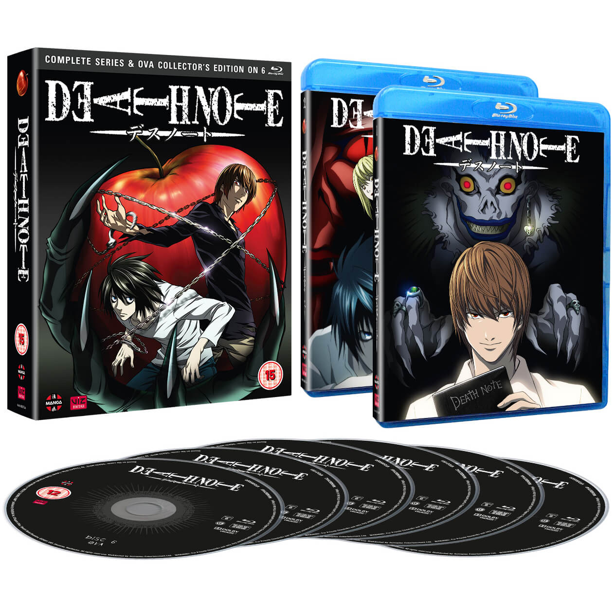Death Note Complete Series and OVA - Collector