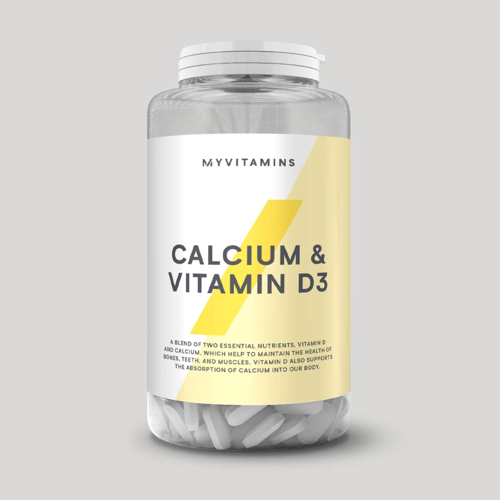 d vitamin och kalcium