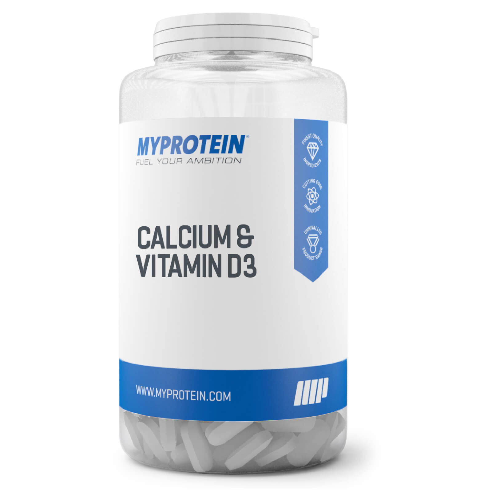 Calcium & Vitamin D3, 180 Tablets