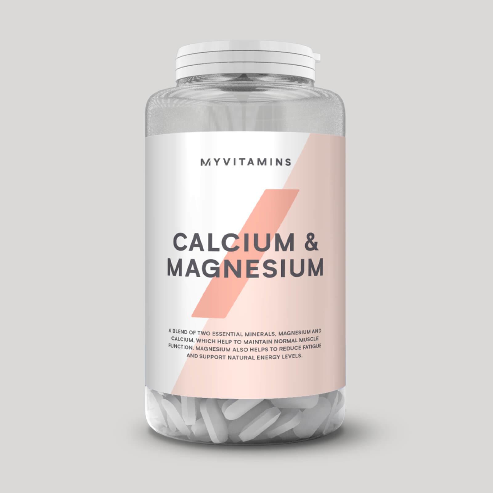 kalcium magnesium tabletter