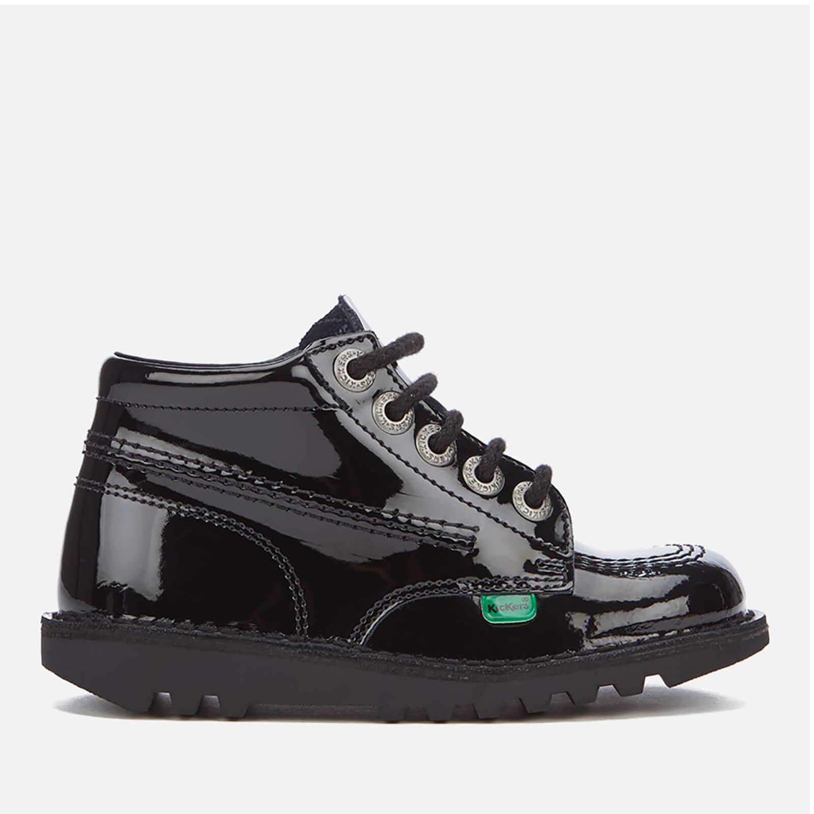 Enfant Hi Chaussures Noir zavvi Kick Kickers Junior ClothingFr c1KJTuF35l