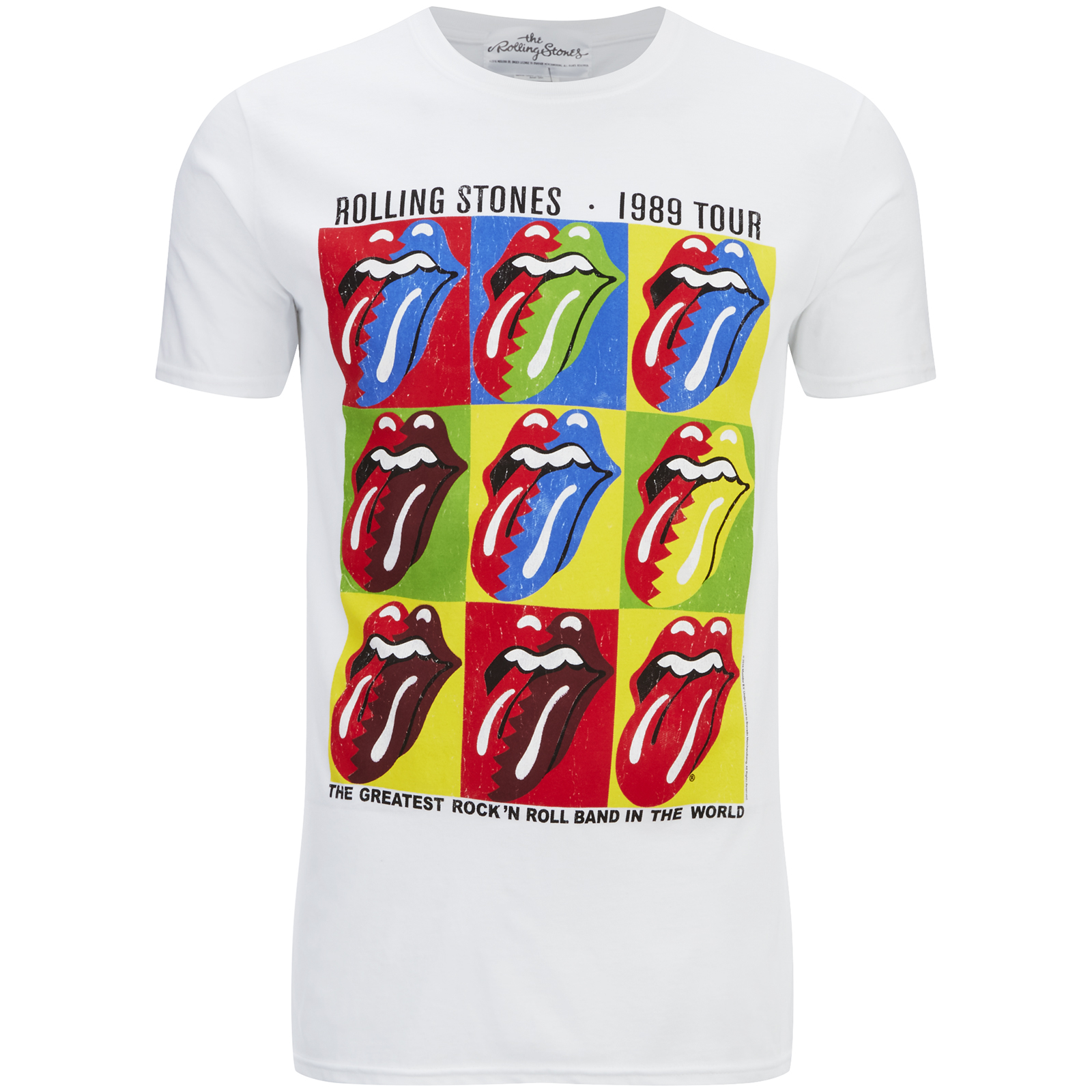 Rolling stones white shirt join