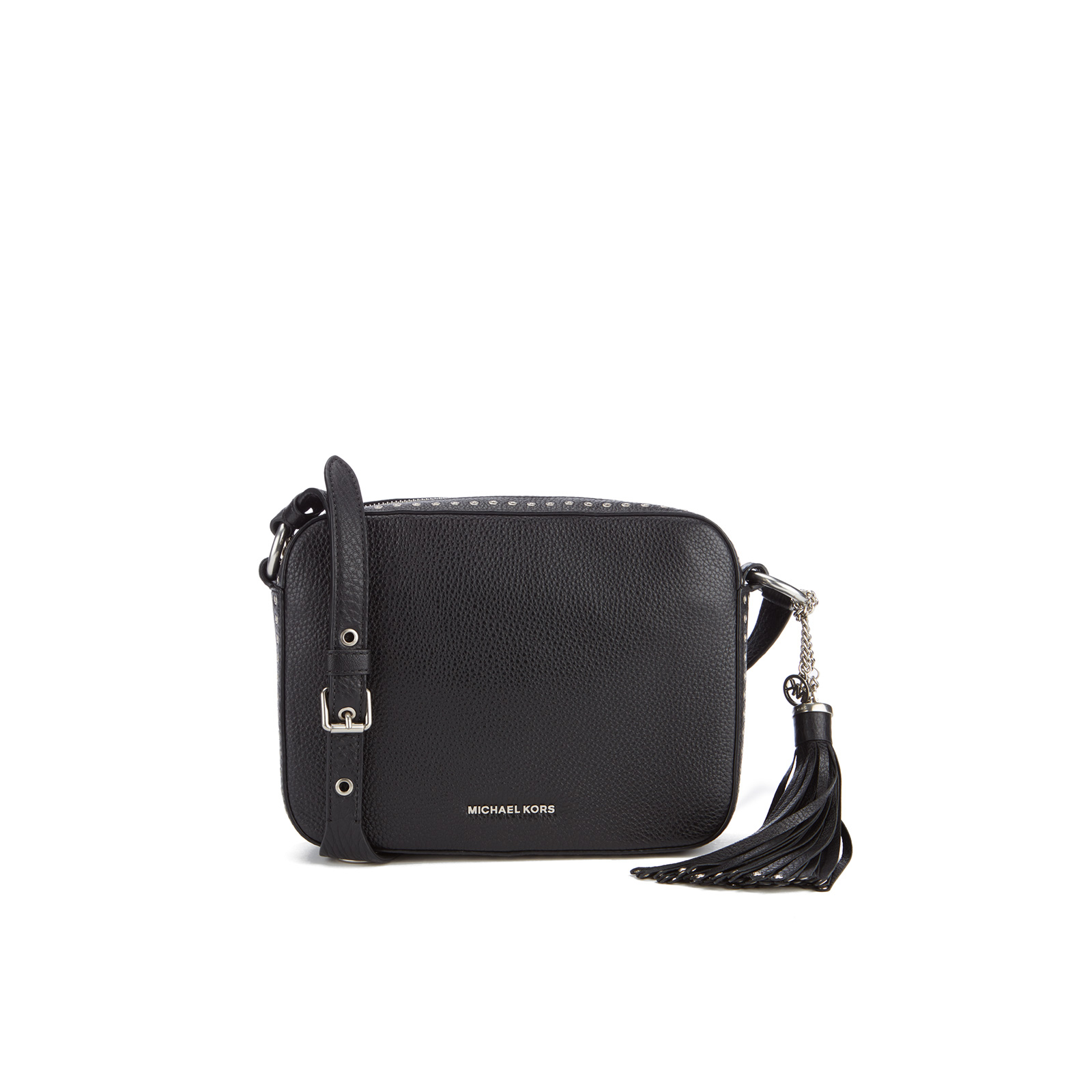 8f42c276f566 MICHAEL MICHAEL KORS Women s Brooklyn Large Camera Bag - Black - Free UK  Delivery over £50