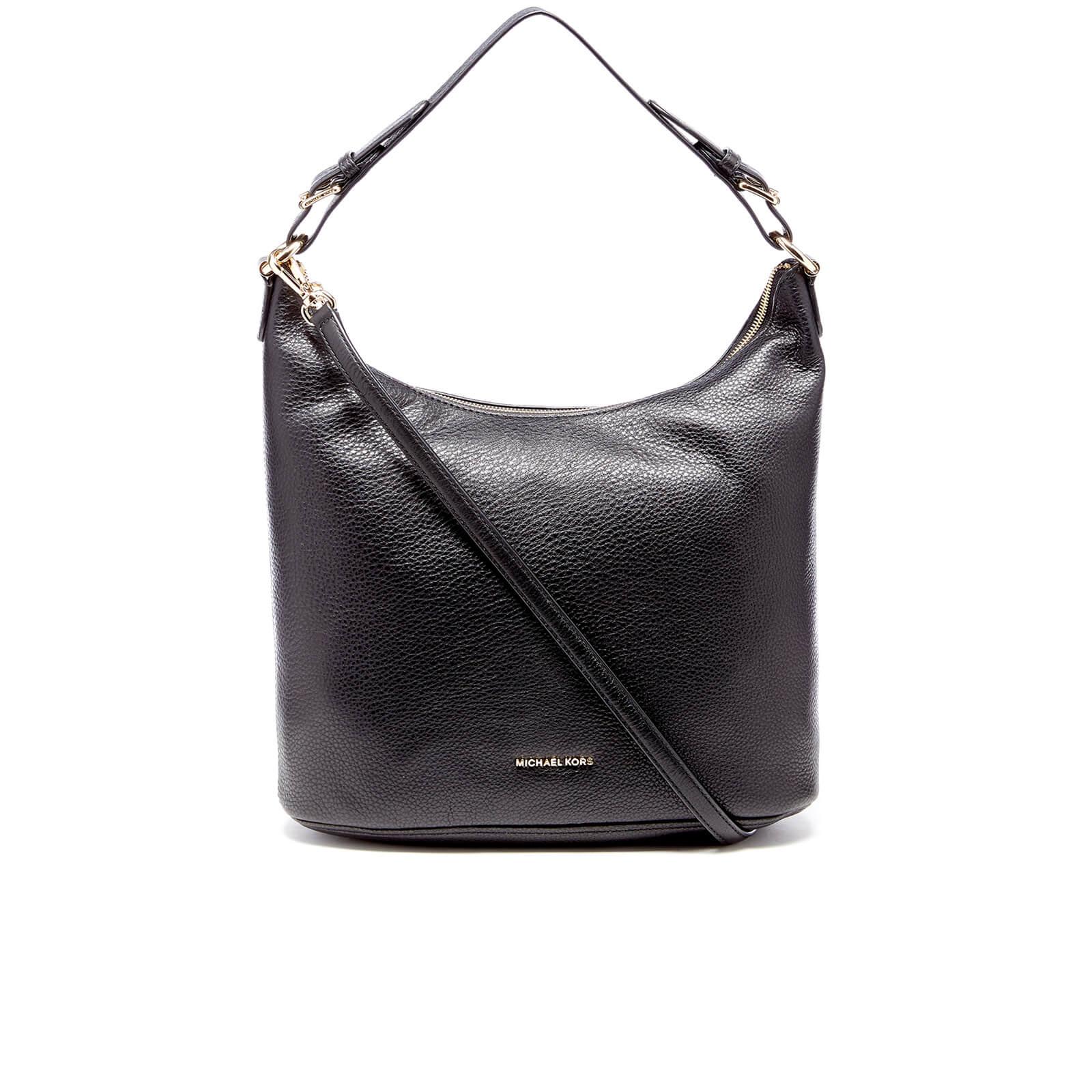 2ed6c7c4a4bf MICHAEL MICHAEL KORS Women s Lupita Large Hobo Bag - Black - Free UK  Delivery over £50