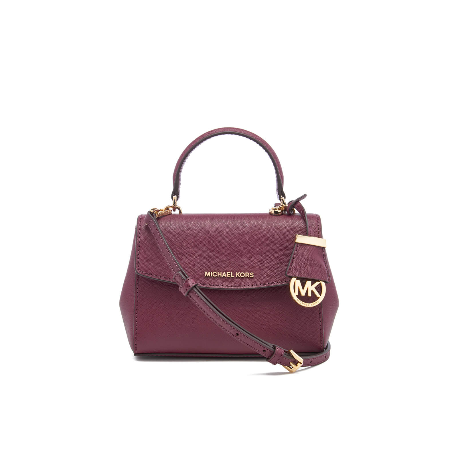 ba61f02873fb MICHAEL MICHAEL KORS Women's Ava XS Cross Body Bag - Plum - Free UK  Delivery over £50