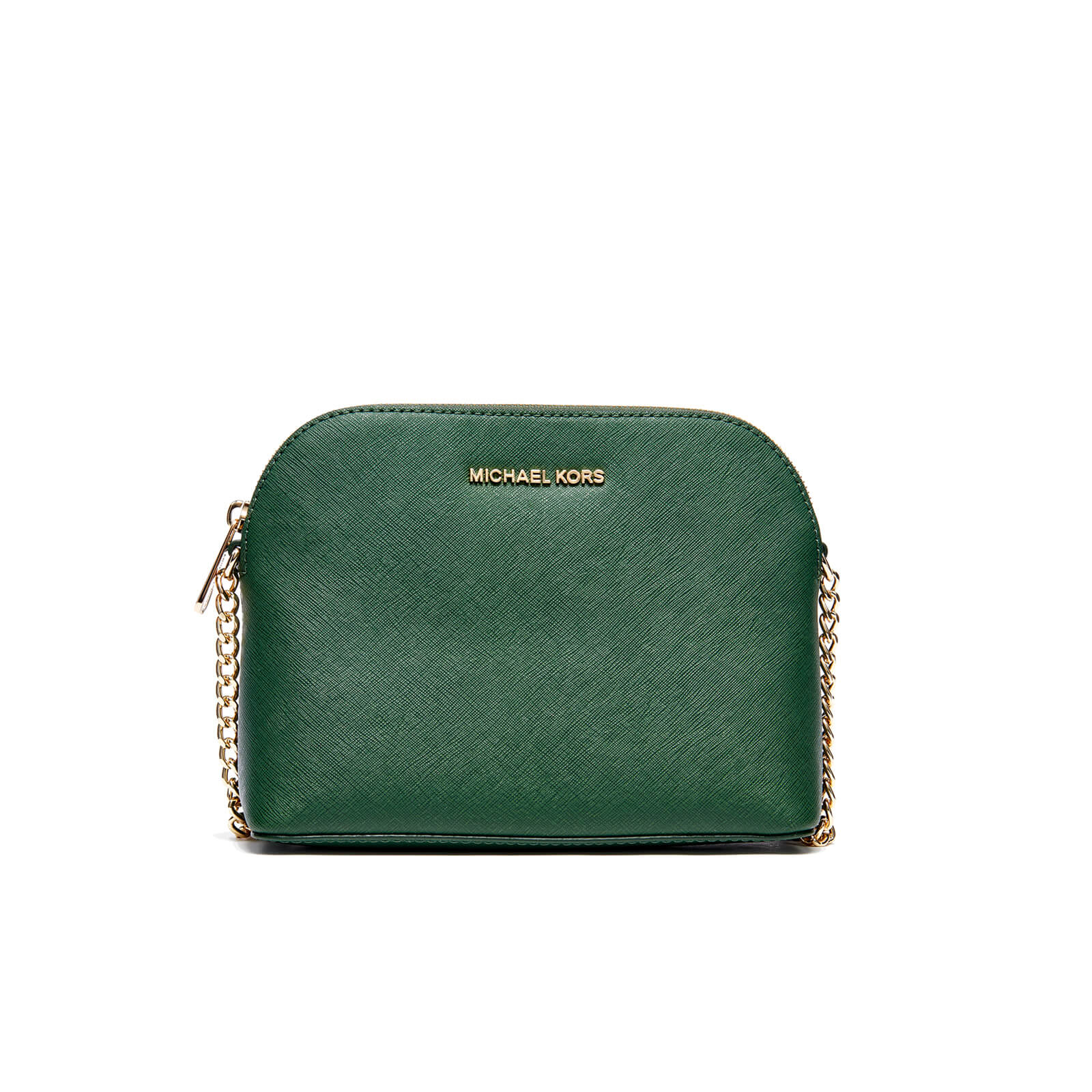 f36815afec98 MICHAEL MICHAEL KORS Women's Cindy Large Dome Cross Body Bag - Moss - Free  UK Delivery over £50