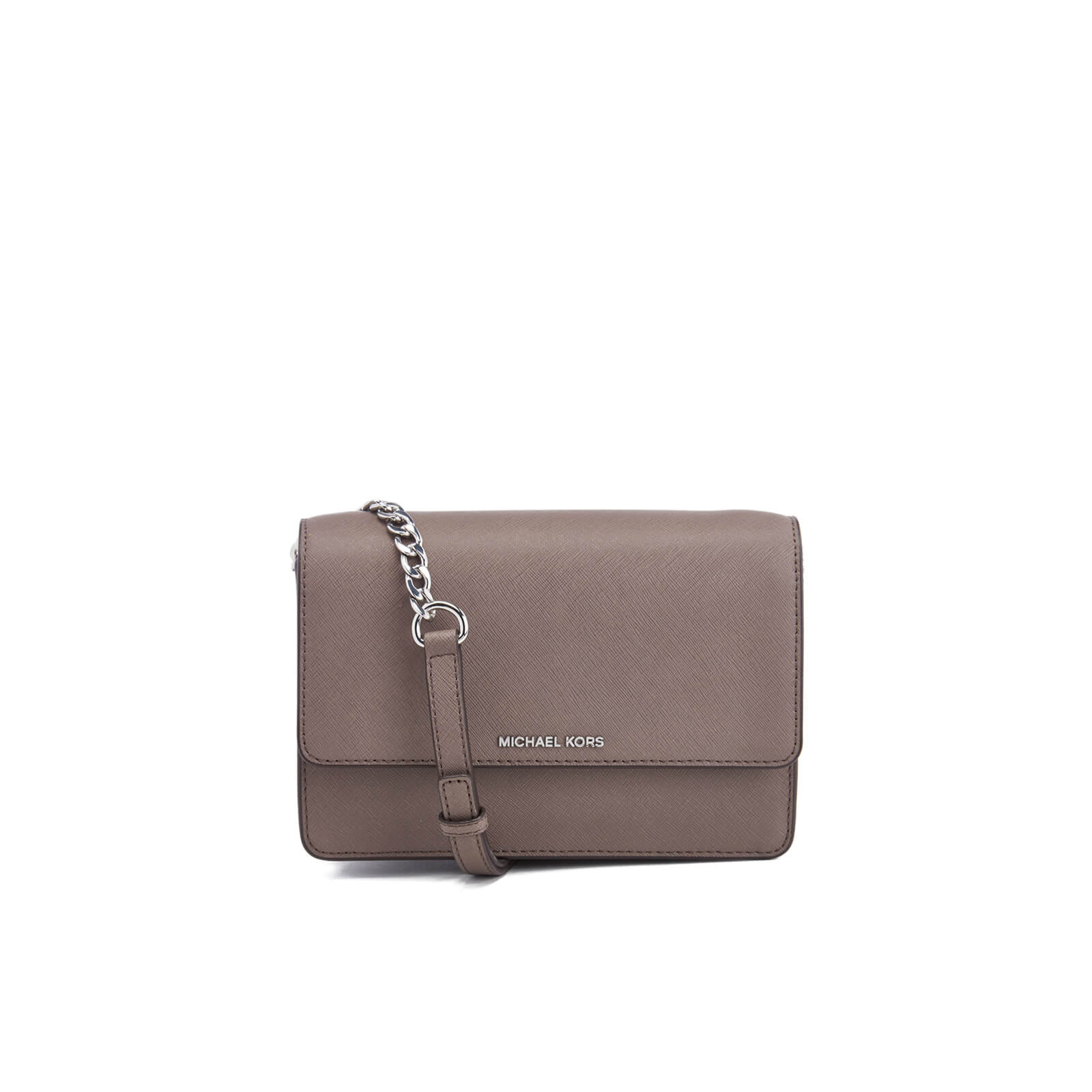 bc1c91ce87 MICHAEL MICHAEL KORS Women s Daniela Small Flap Cross Body Bag - Cinder -  Free UK Delivery over £50