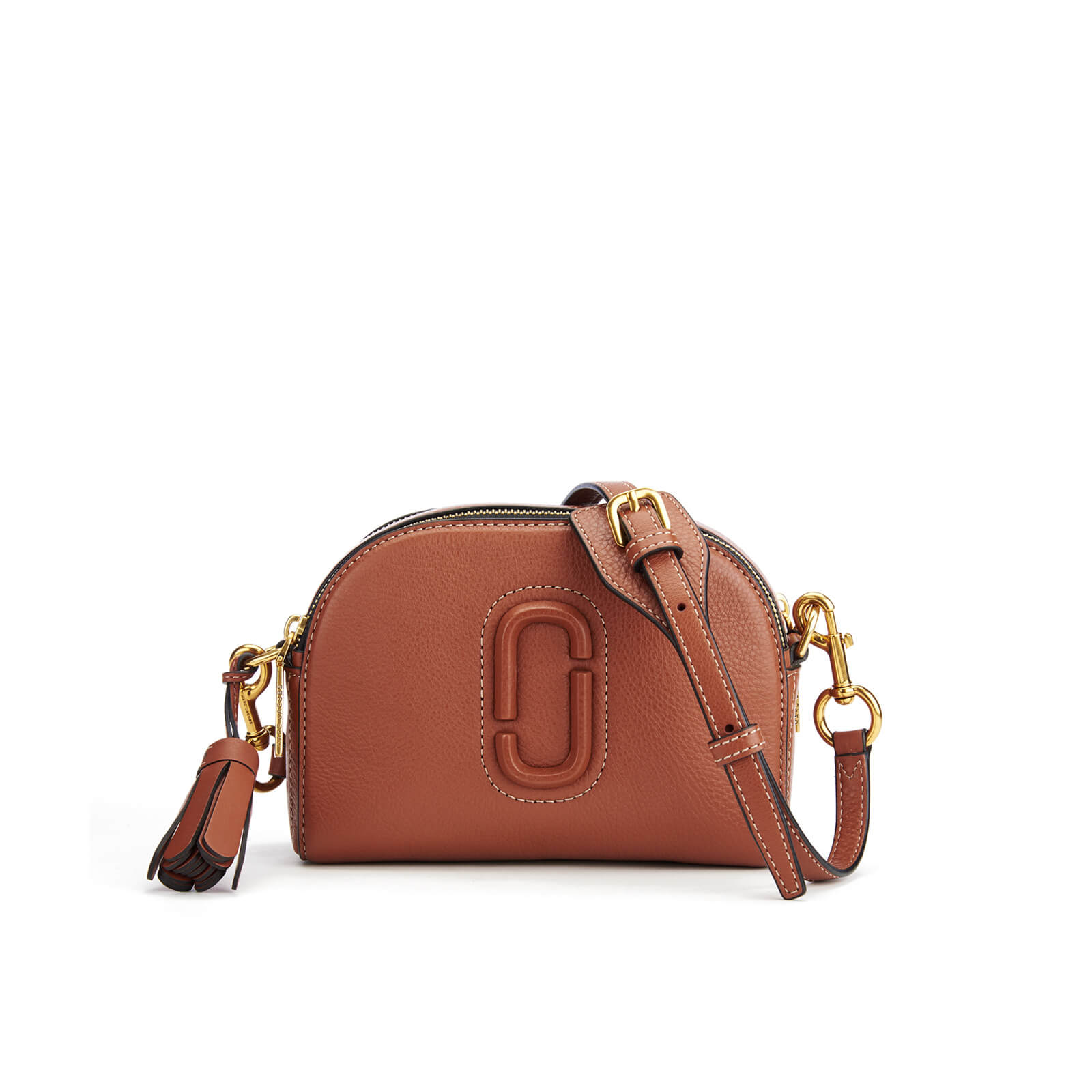 ff1afc49afdd Marc Jacobs Women s Shutter Small Camera Bag - Cognac - Free UK Delivery  over £50