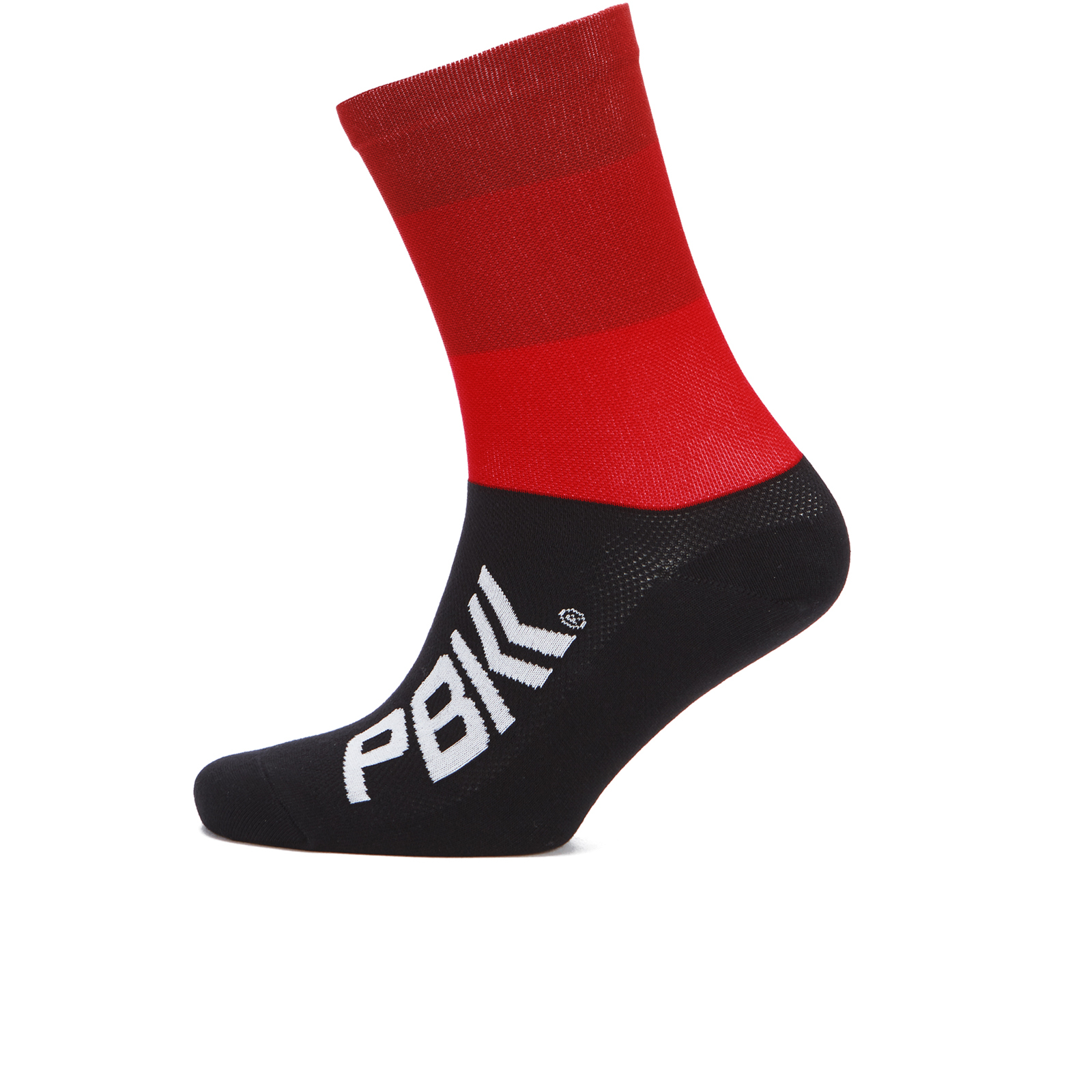 PBK Race High Cuff Socks - Red