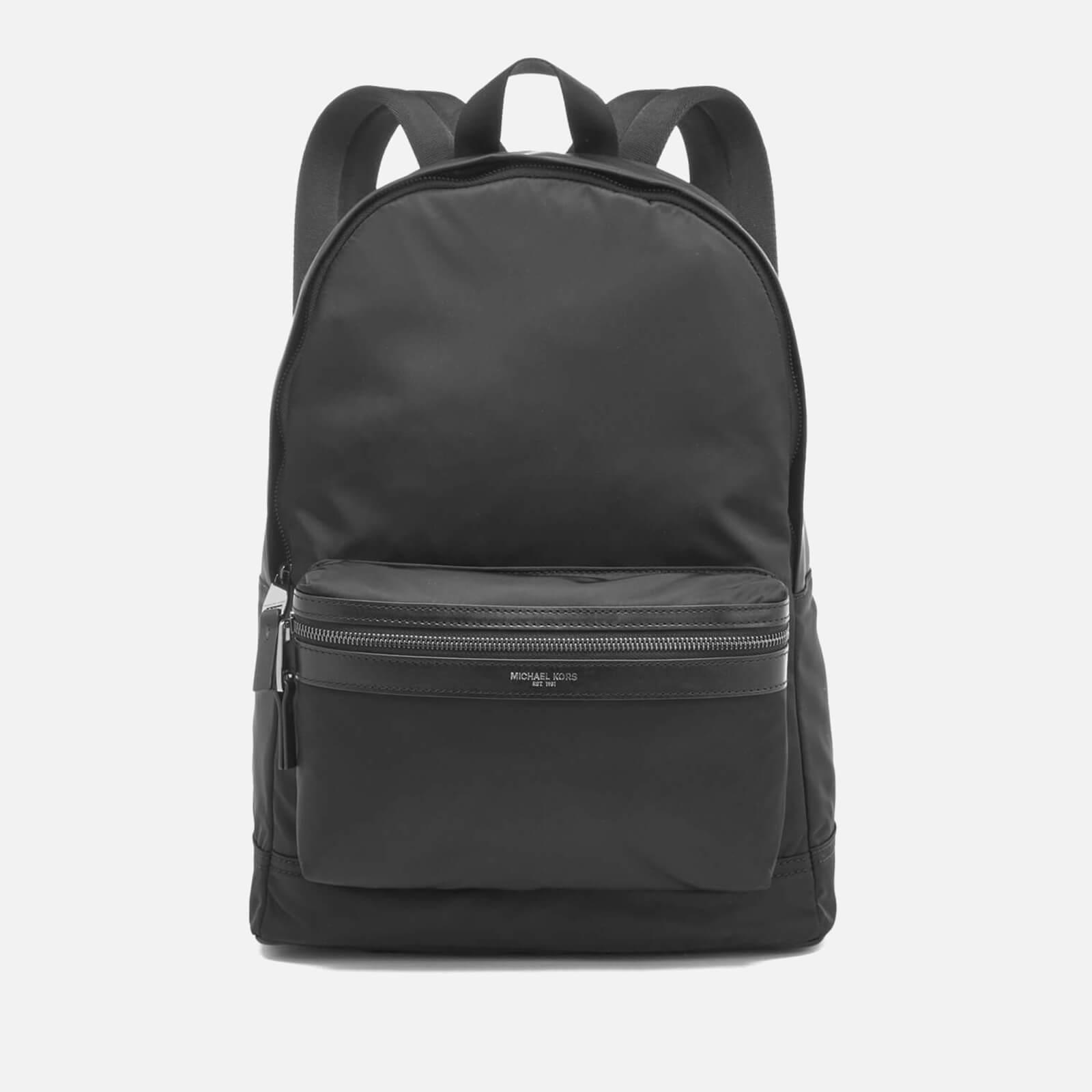 best service d01f9 9bf30 Michael Kors Men's Kent Backpack - Black