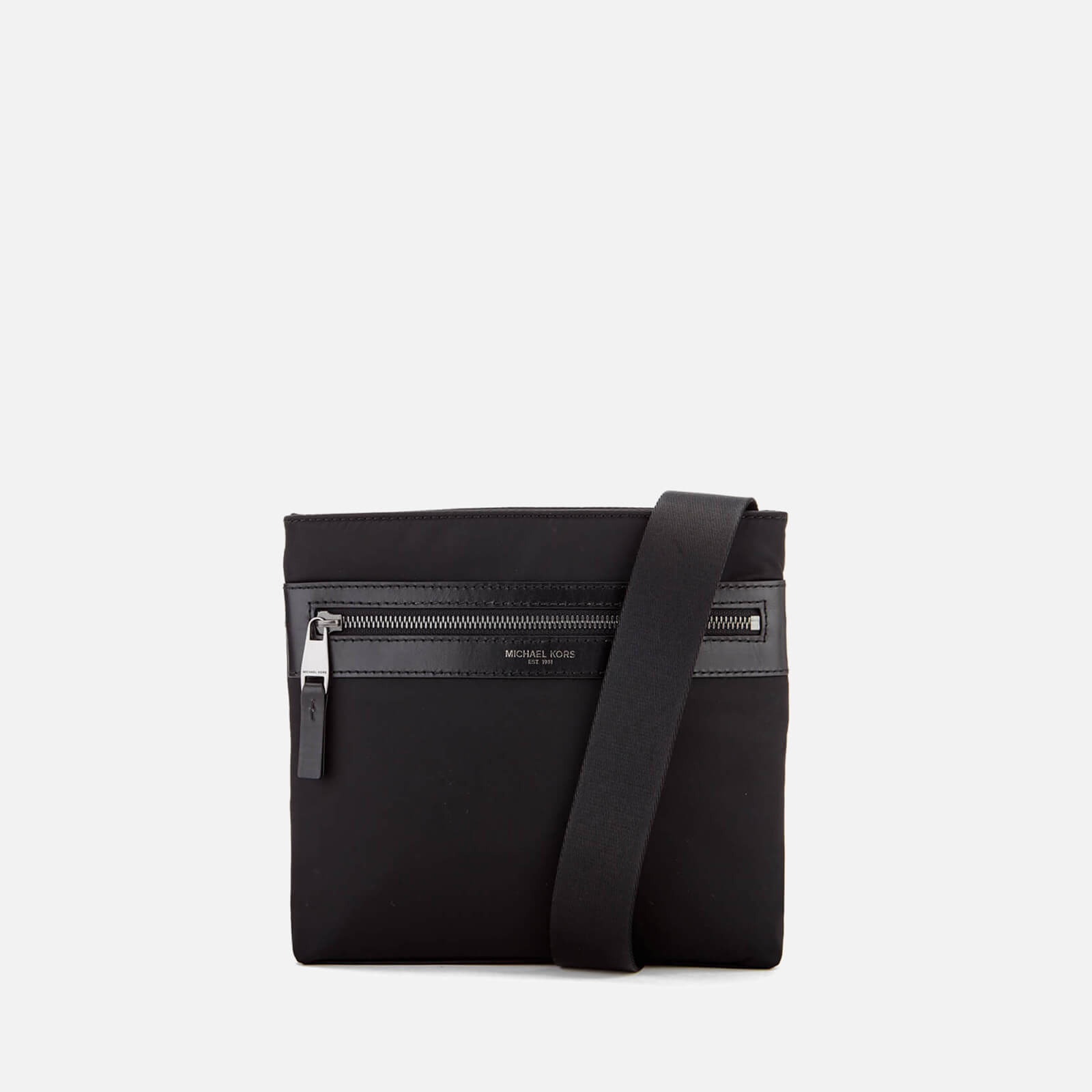 d4089b4a5c17 Michael Kors Men's Kent Cross Body Bag - Black - Free UK Delivery over £50