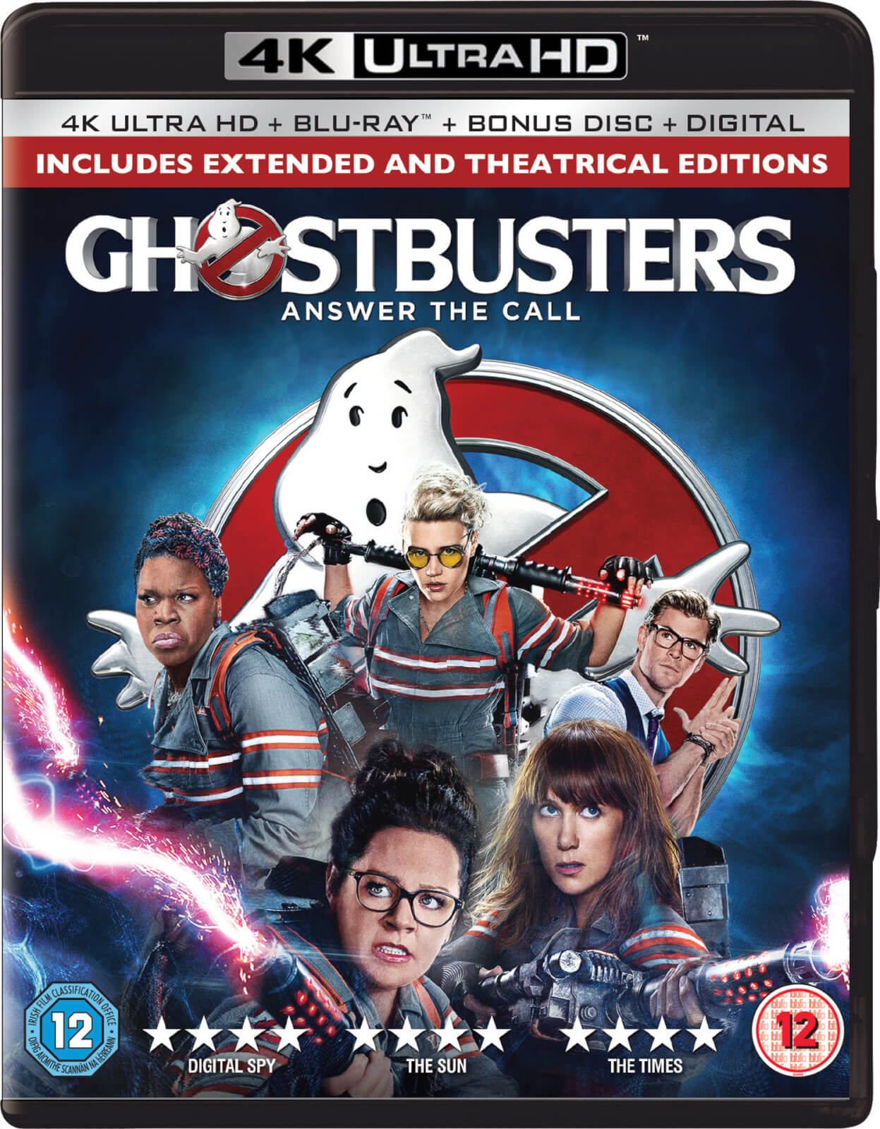 ghostbusters 2 disc 4k ultra hd blu ray blu ray zavvi. Black Bedroom Furniture Sets. Home Design Ideas