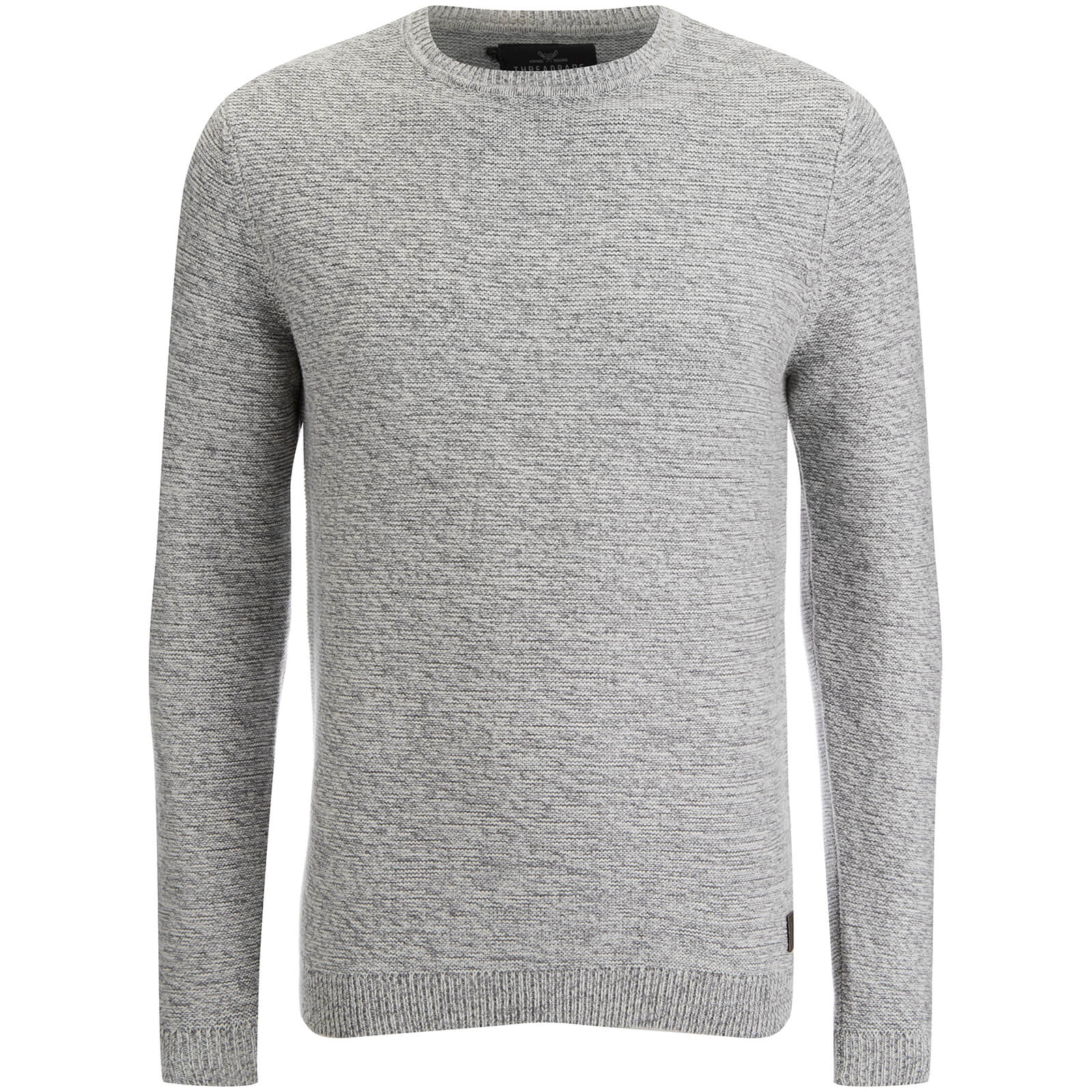 Pull Threadbare pour Homme well Gradient -Gris/Ecru