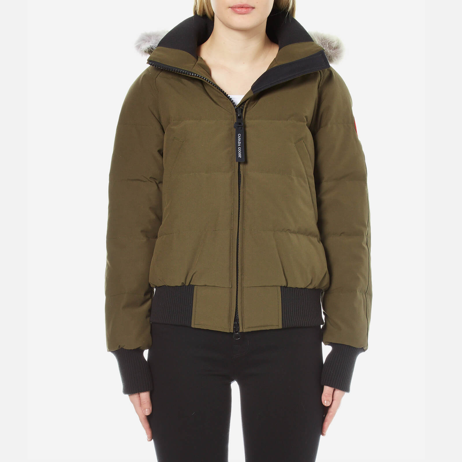3d909c89203d Canada Goose Women s Savona Bomber Jacket - Military - Free UK Delivery  over £50