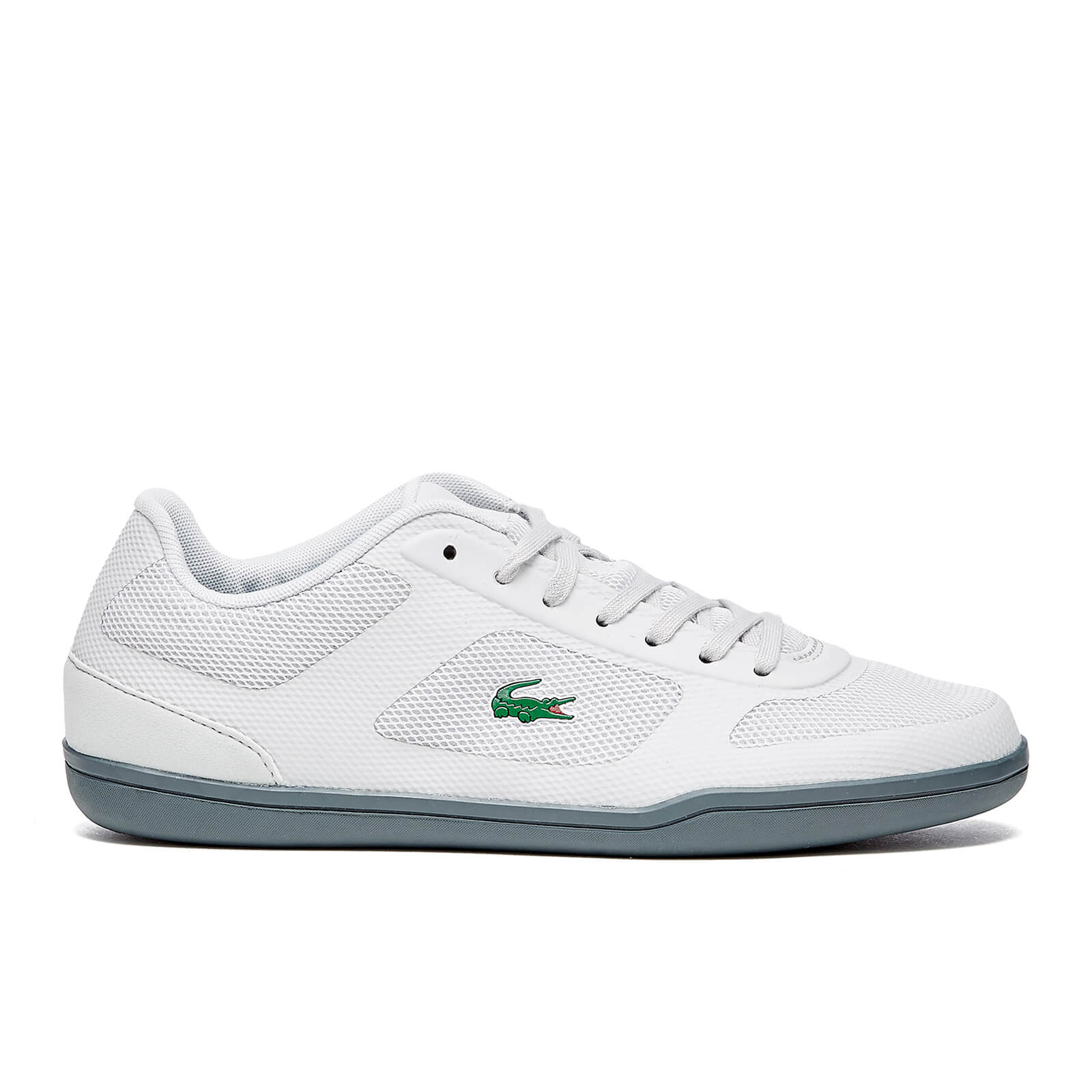 5b32a465ec69f Lacoste Men s Court-Minimal Sport 416 Trainers - Light Grey - Free UK  Delivery over £50
