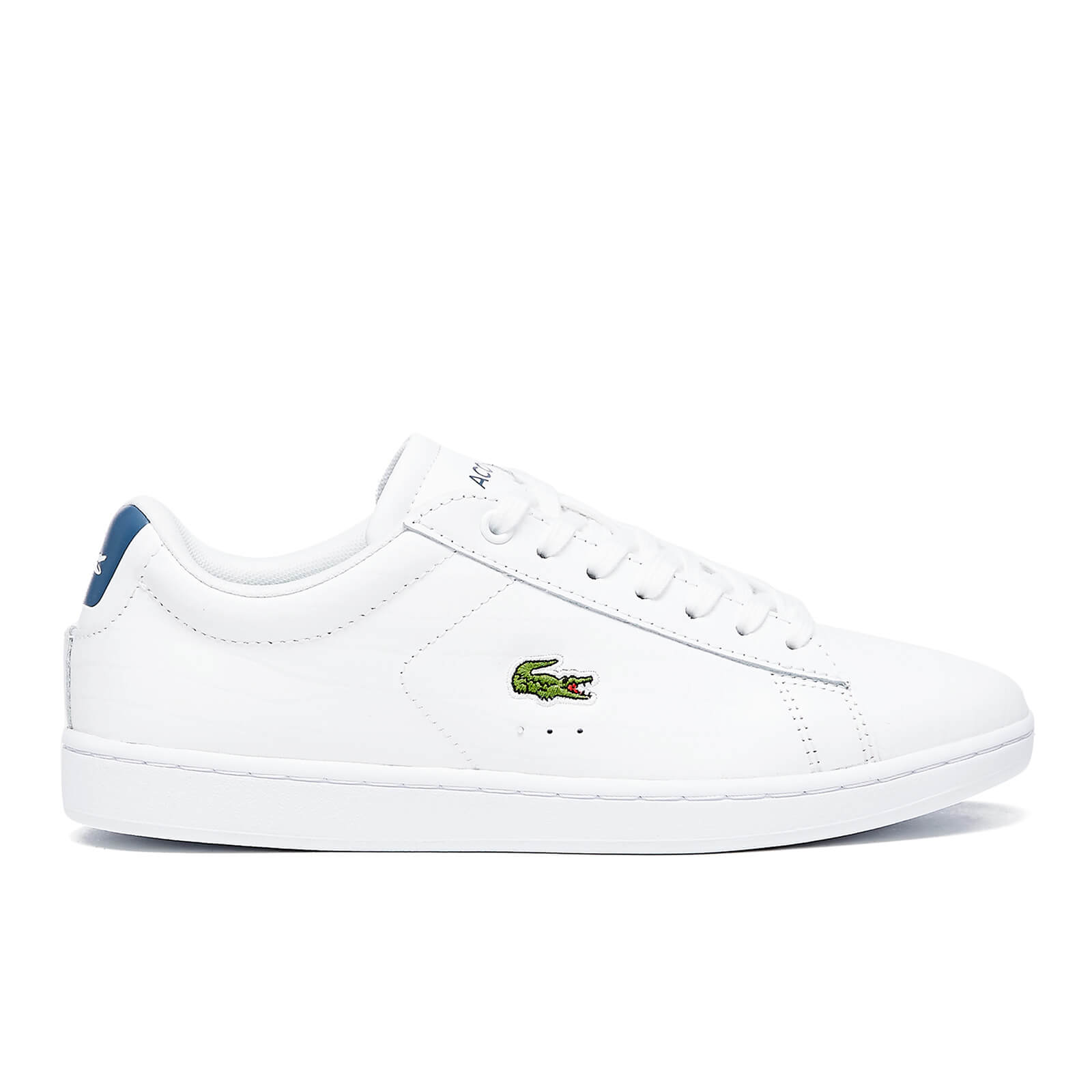 b1d0364c8 Lacoste Women s Carnaby Evo G316 8 Trainers - White Blue - Free UK ...