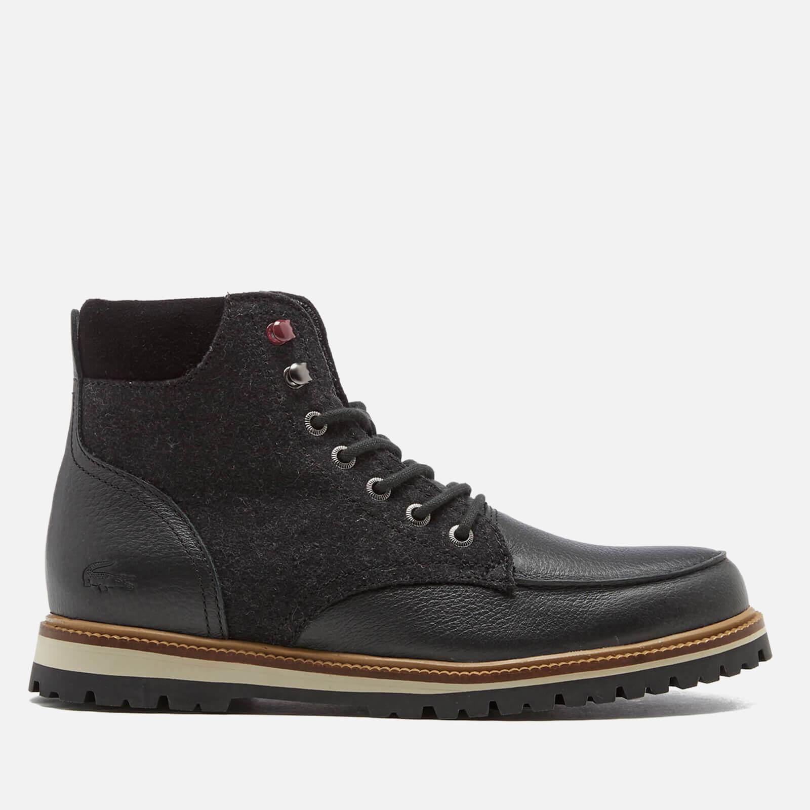 magasin en ligne 67f60 1a857 Lacoste Men's Montbard 316 Lace Up Boots - Black