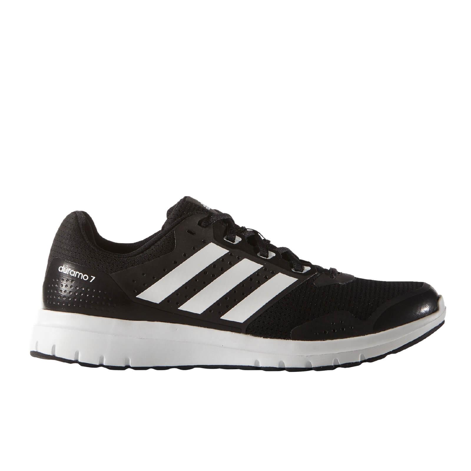 af89bae47d9 adidas Men s Duramo 7 Running Shoes - Black White