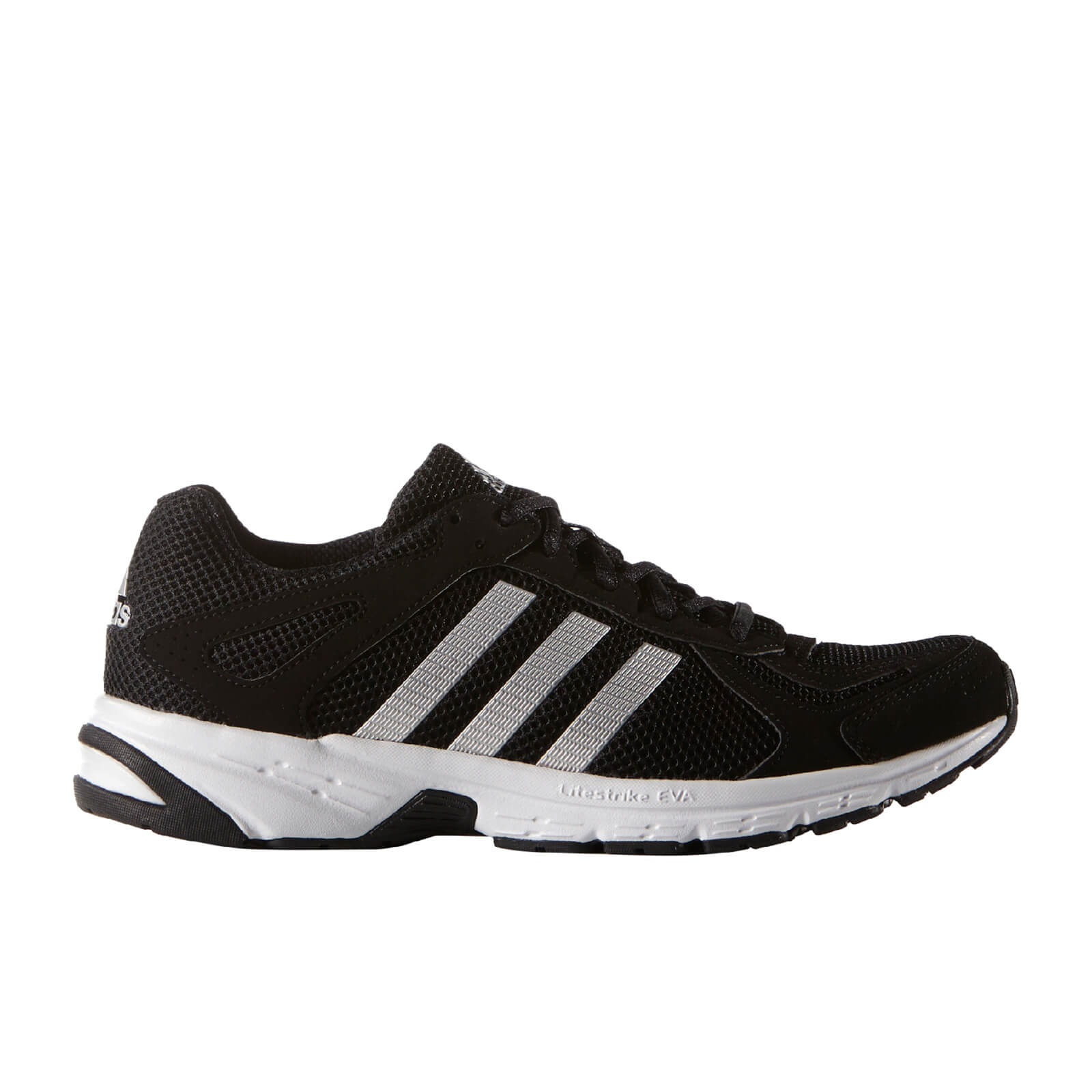 6b01d2072 adidas Men s Duramo 55 Running Shoes - Black Silver